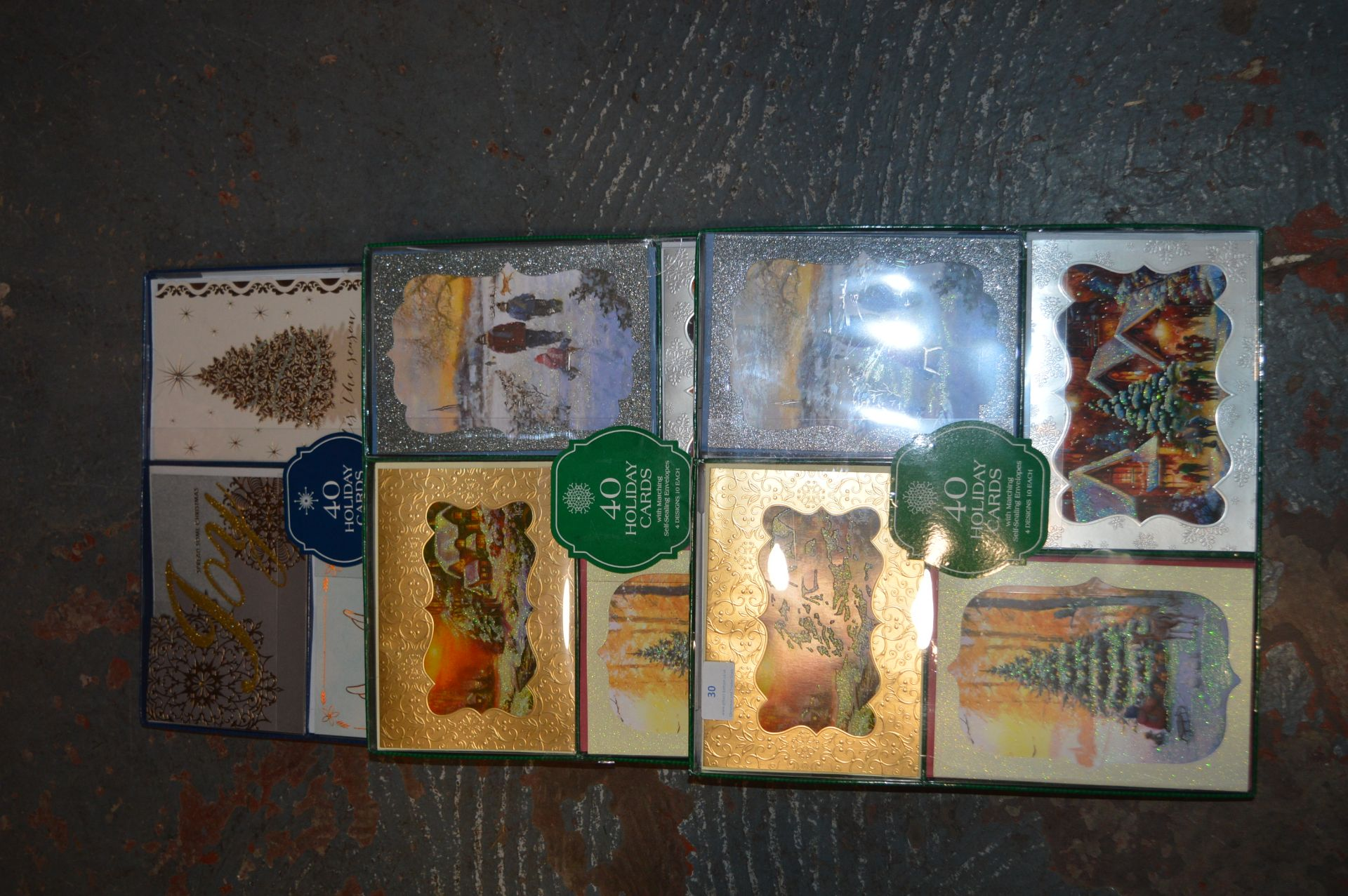 Lot 30 - *Three Packs of 40 Holiday Cards