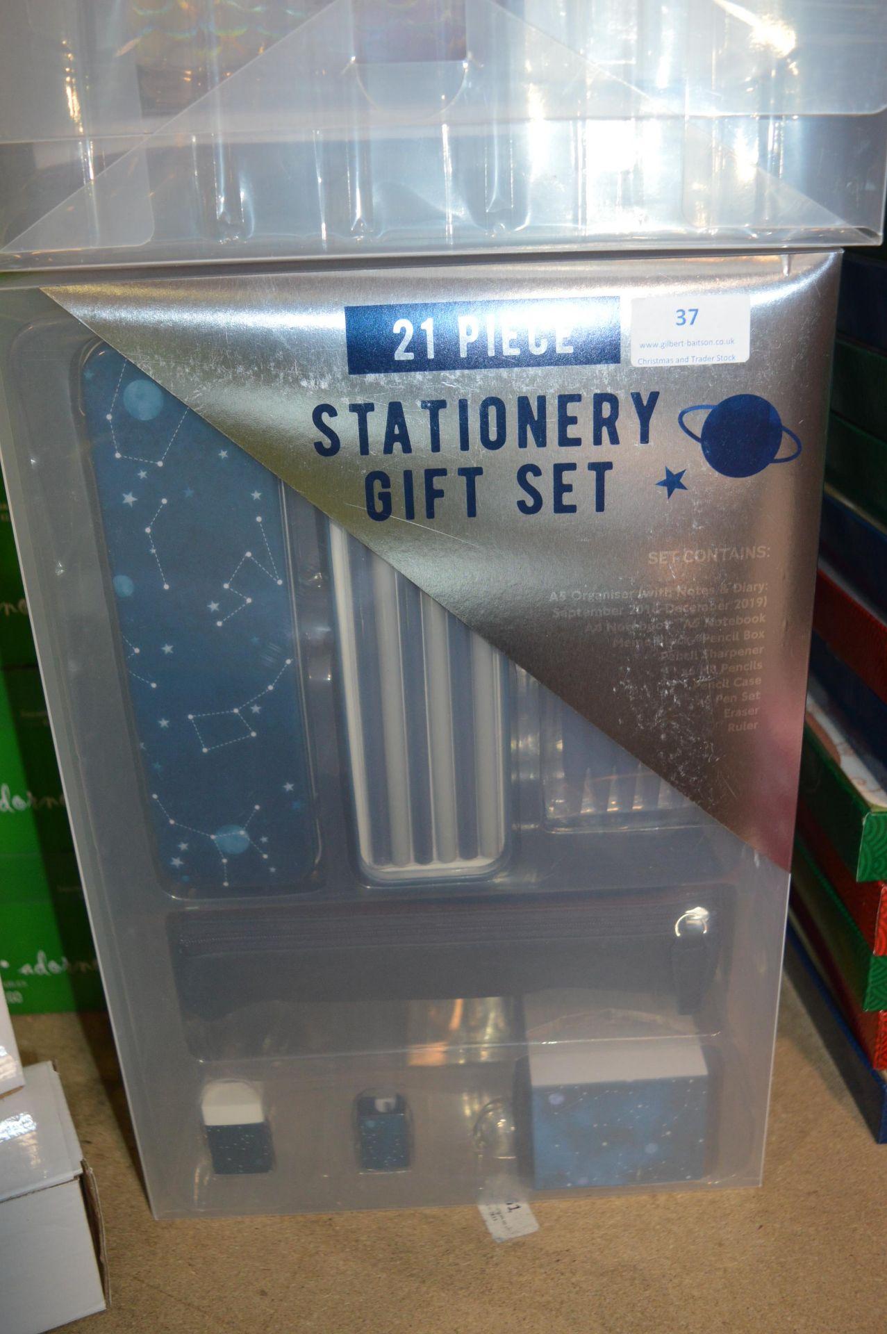 Lot 37 - *21pc Stationery Gift Set (Blue)