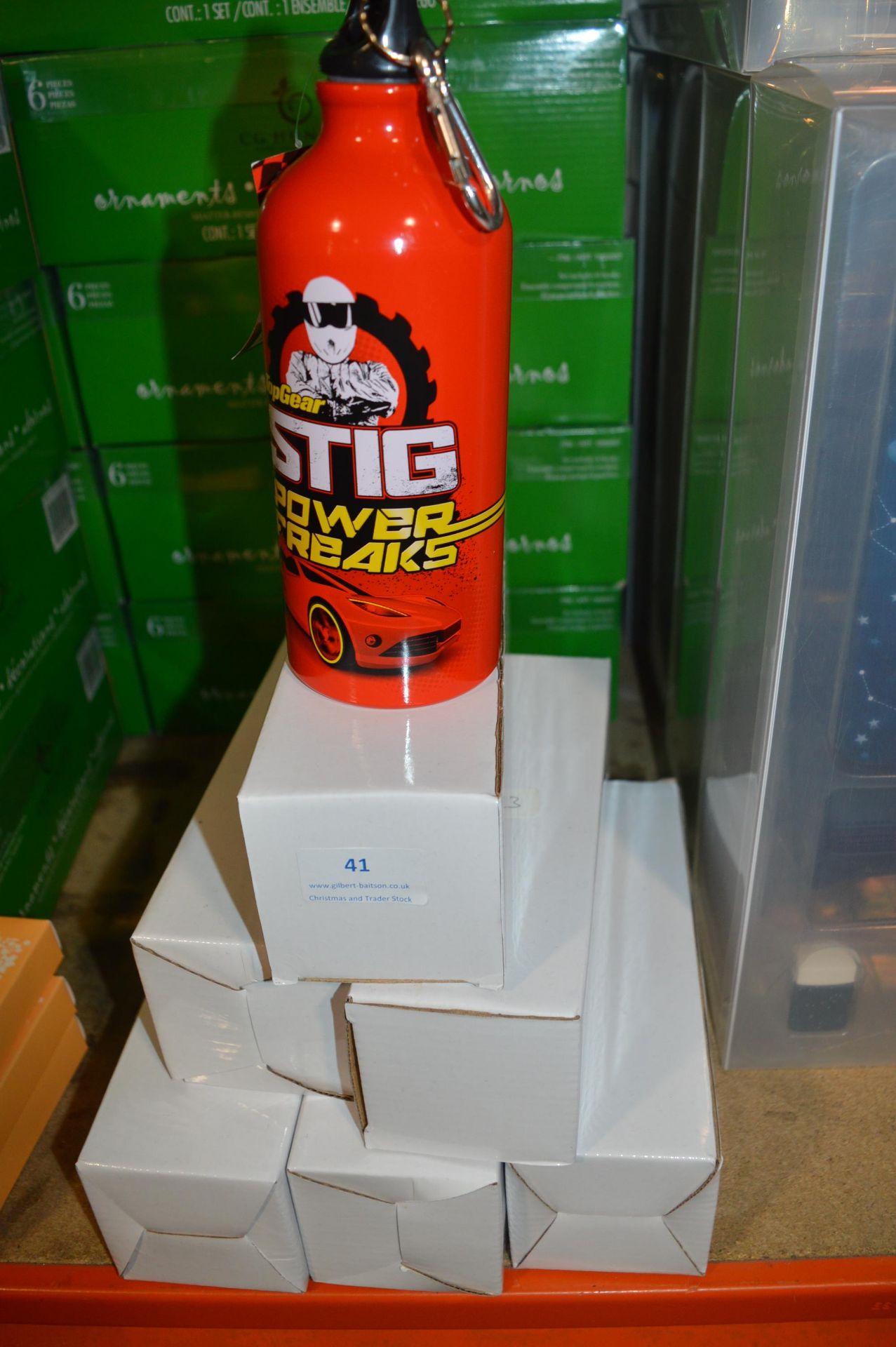 Lot 41 - *Six Top Gear Water Bottles