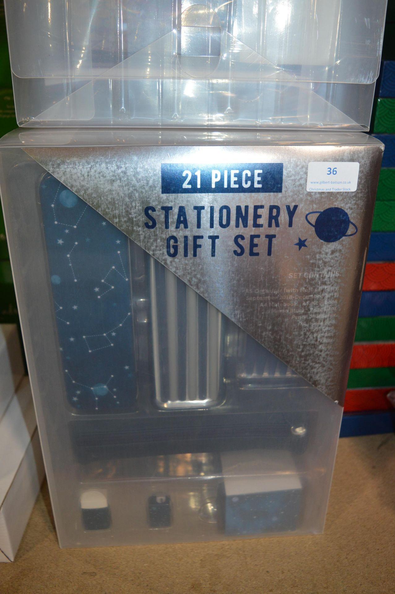 Lot 36 - *21pc Stationery Gift Set (Blue)