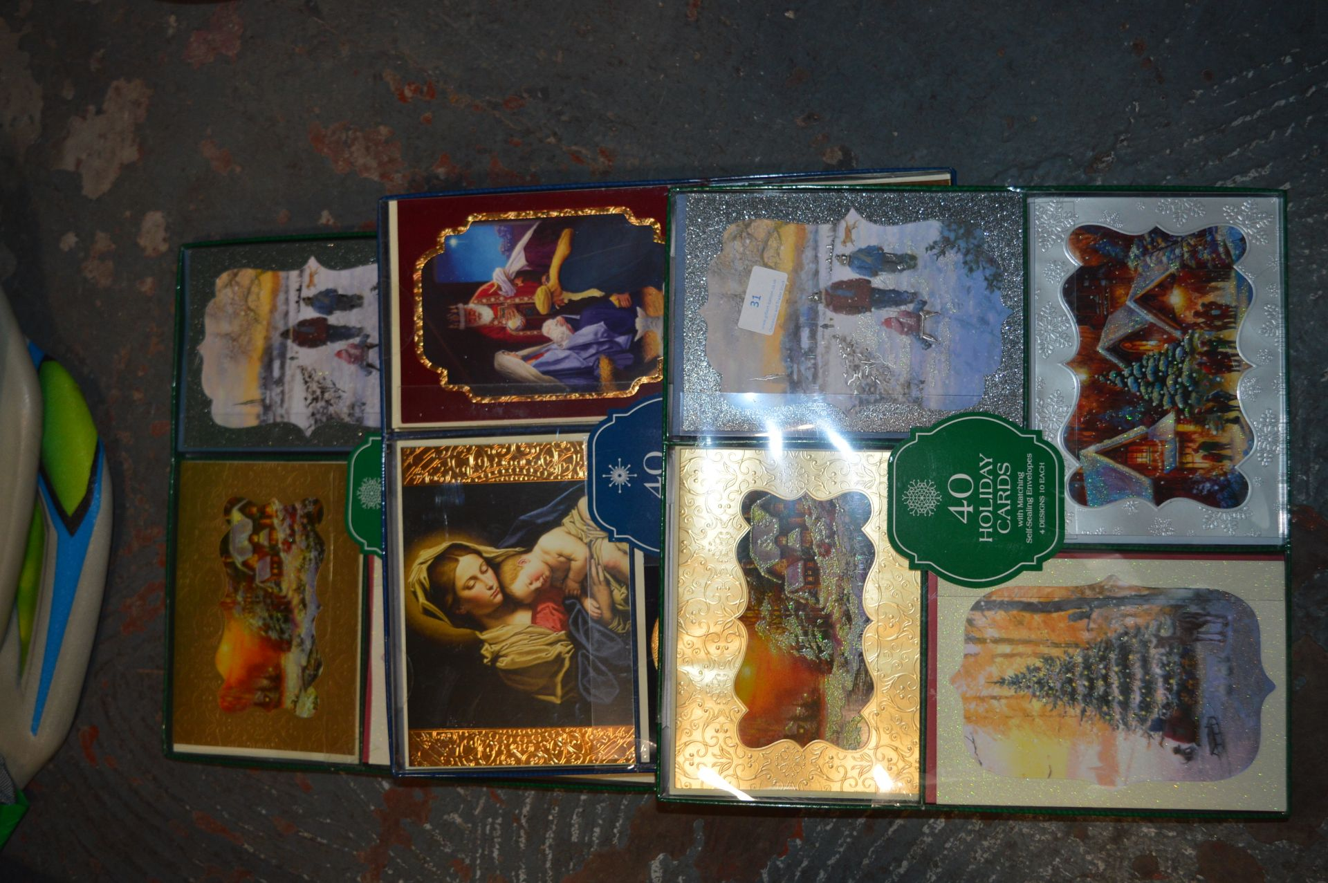 Lot 31 - *Three Packs of 40 Holiday Cards