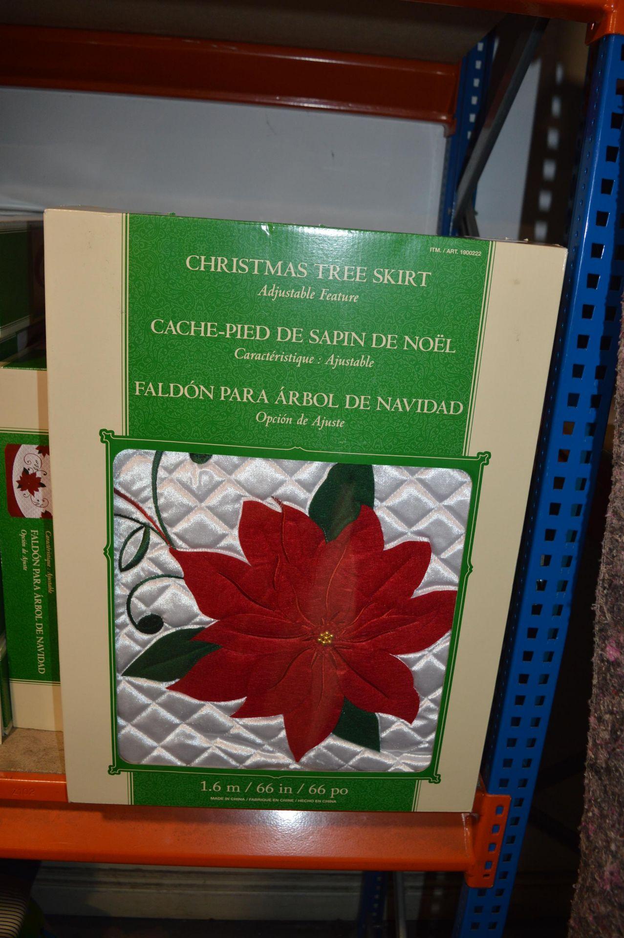 Lot 22 - *Christmas Tree Skirt 1.6m
