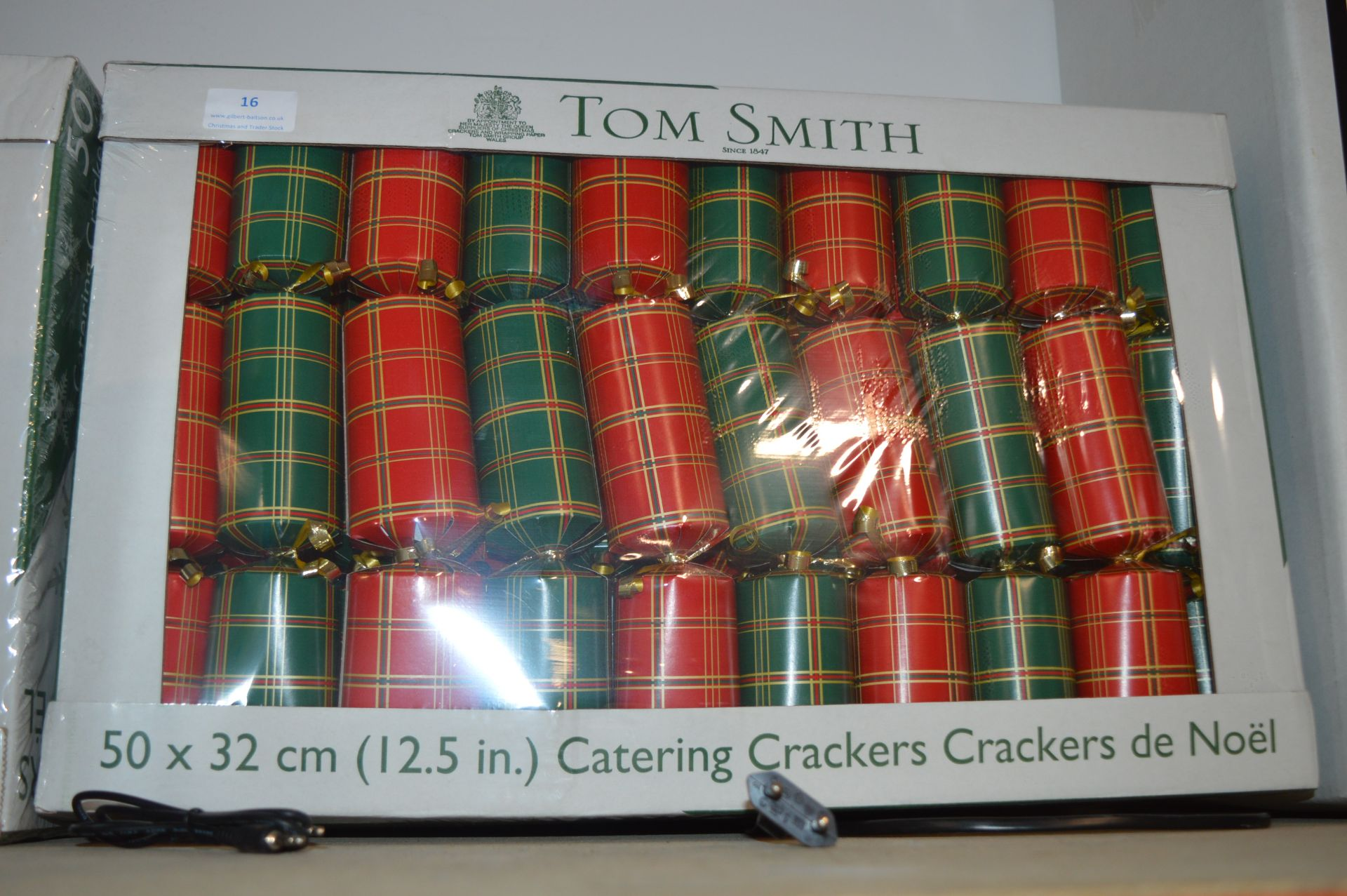 Lot 16 - *Tom Smith Christmas Crackers 50pk