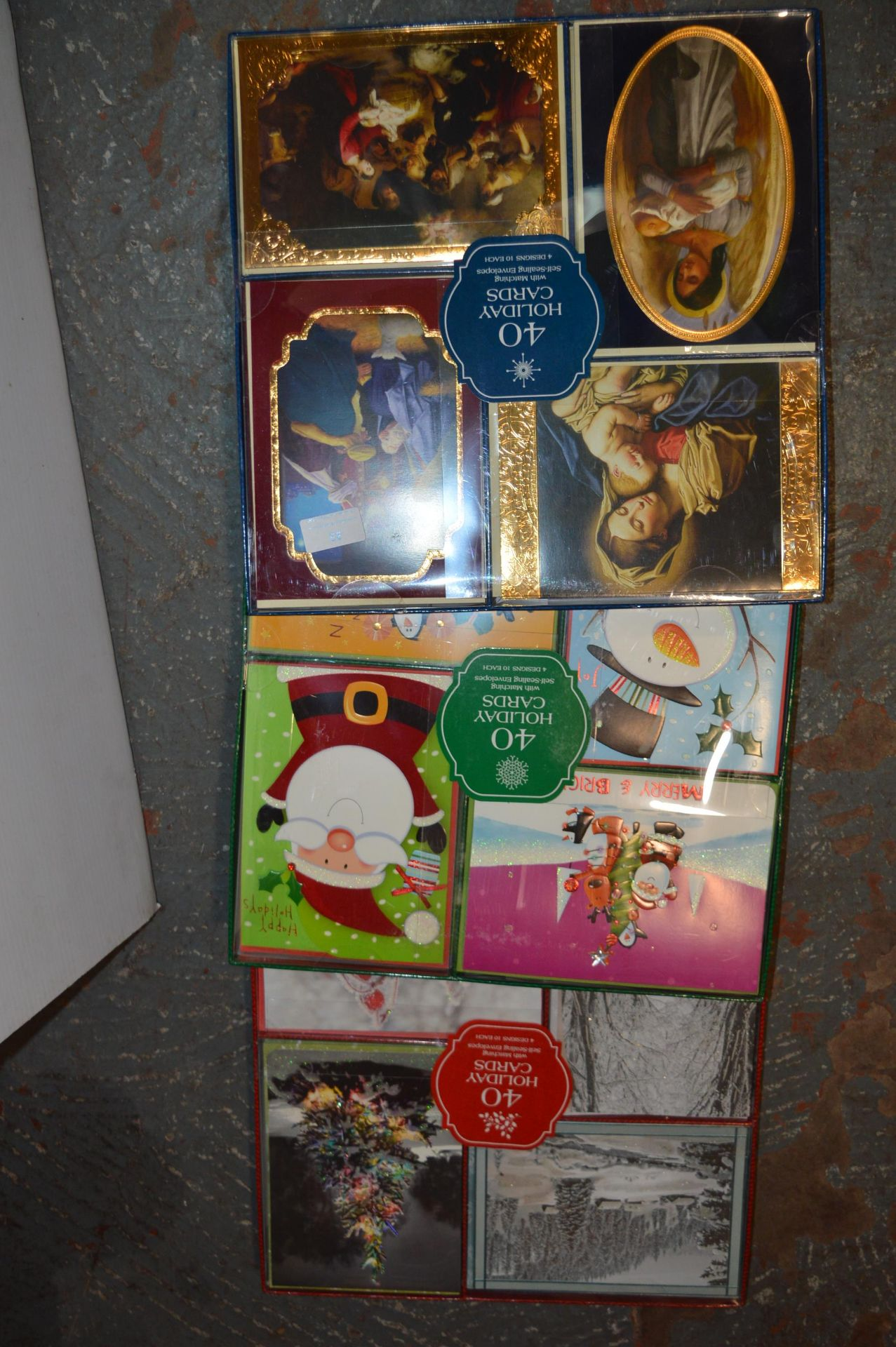 Lot 33 - *Three Packs of 40 Holiday Cards
