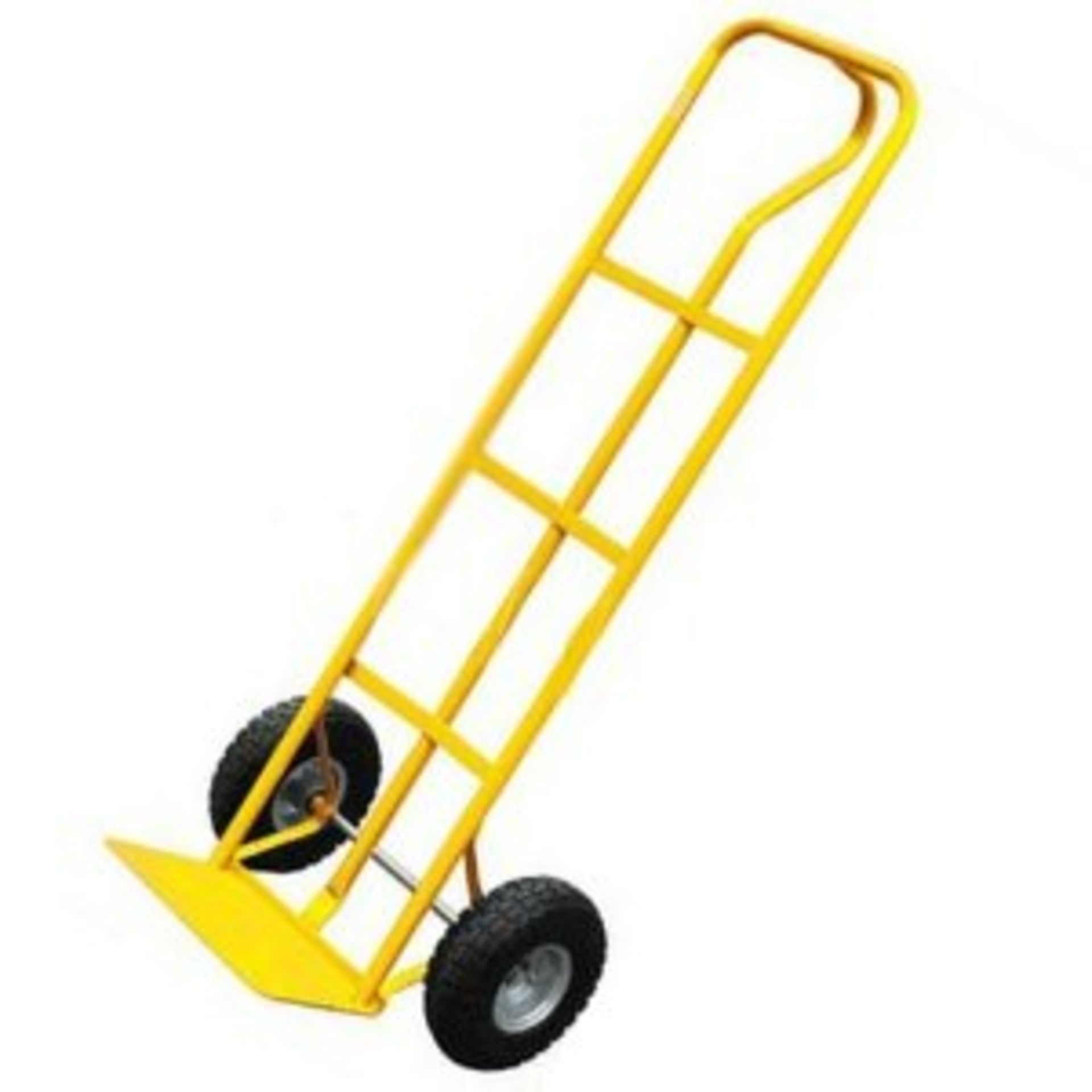 Lot 18024 - V Brand New Industrial Heavy Duty Sack Barrow/Trolley With Pneumatic Tyres Ffx.co.uk £47.02