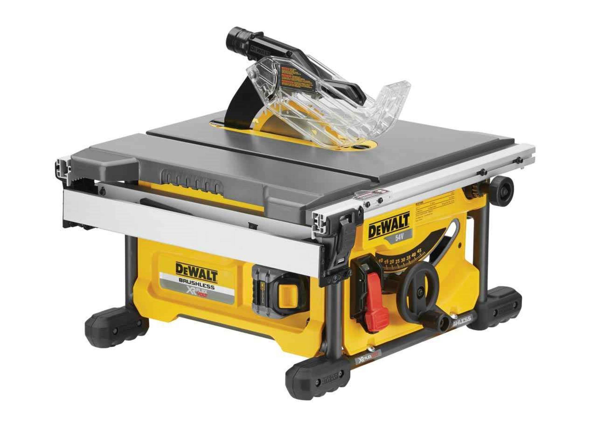 Lot 10089 - V Brand New DeWalt DCS7485 54V XR Flex Volt Brushless Cordless Table Saw £434.97 (Amazon)