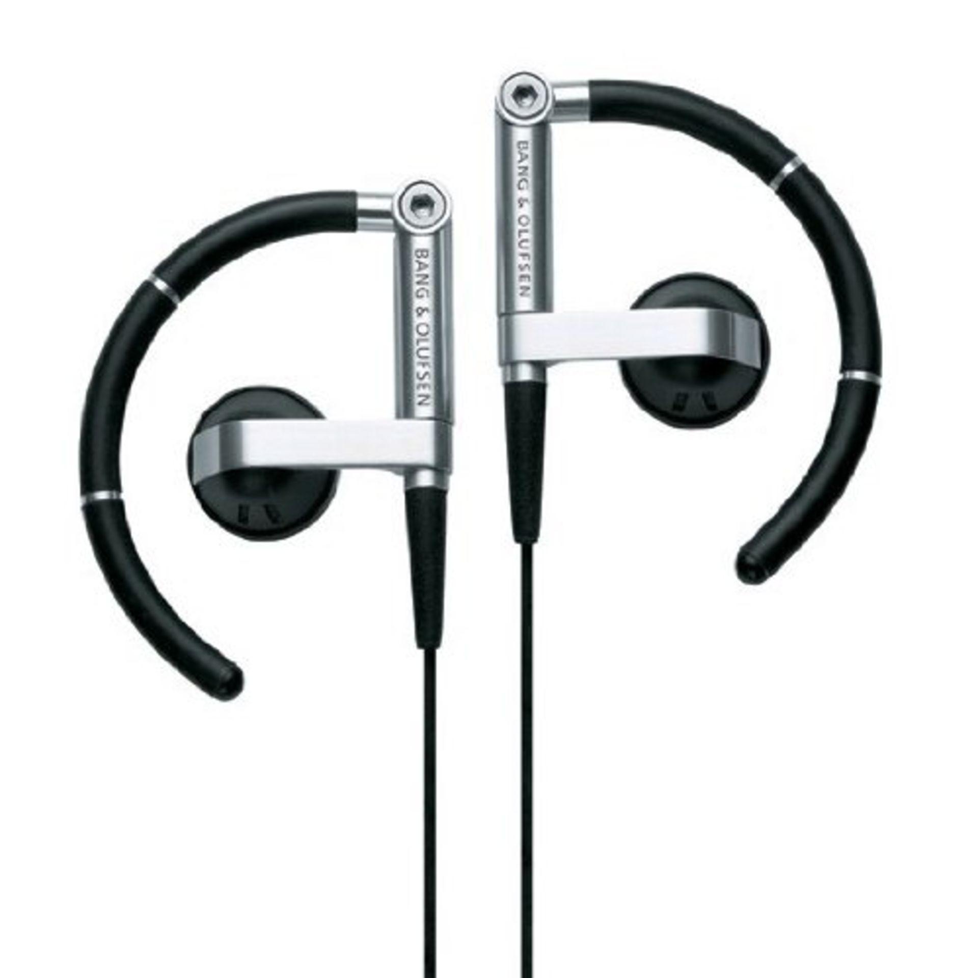 Lot 10071 - V Brand New Bang & Olufsen A8 Earphones Aluminium Black - Amazon Price £119.99