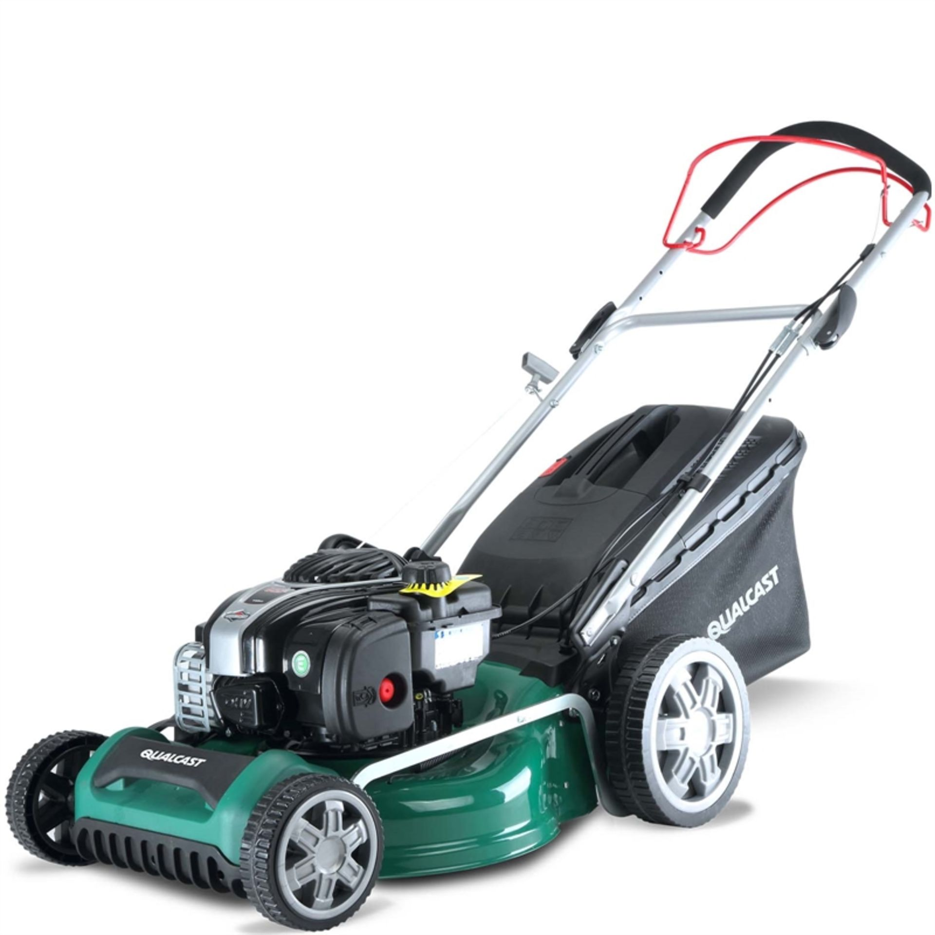 Lot 10086 - V Brand New Qualcast SPP46 46cm 140cc Self Propelled Petrol Rotary Lawnmower - 55L Collect