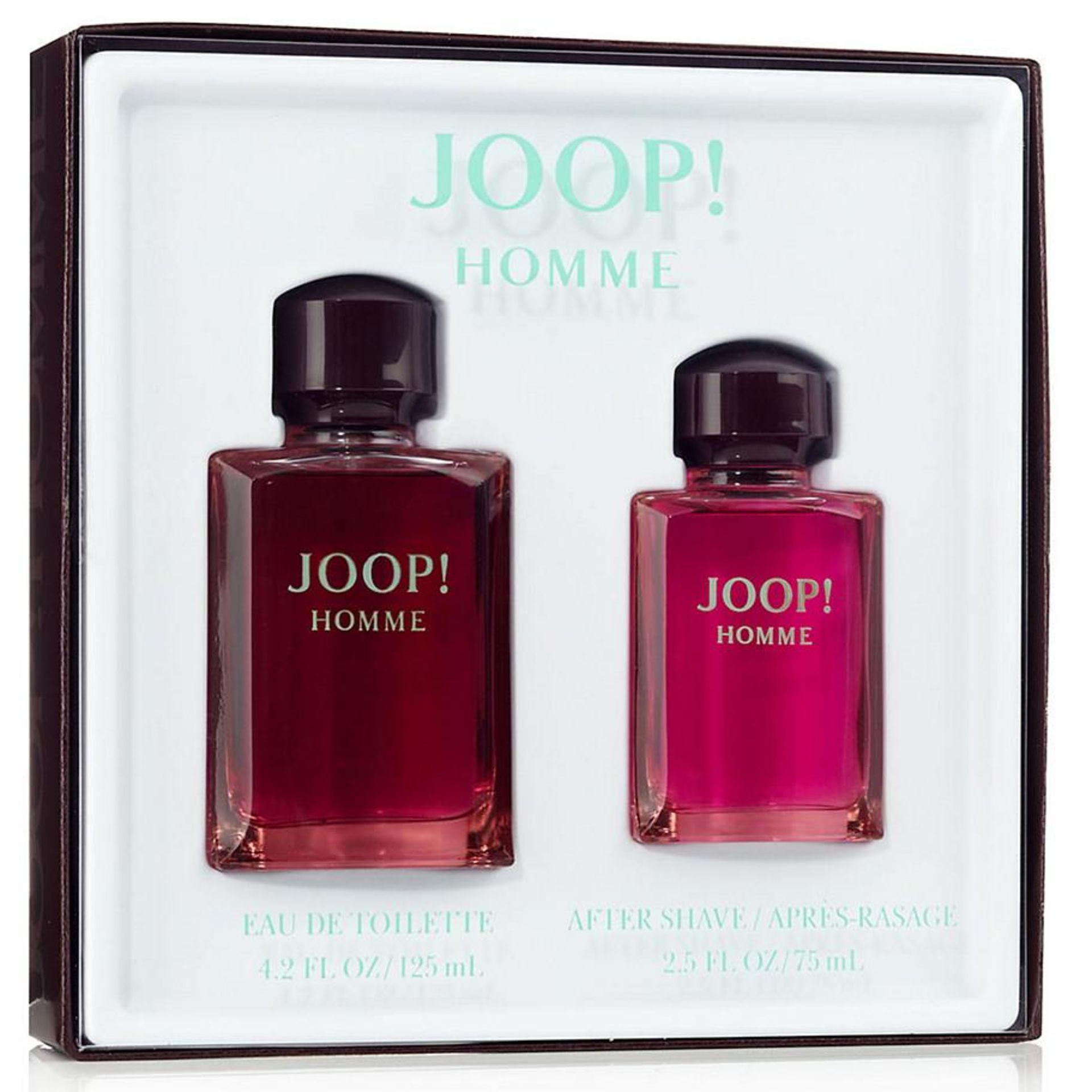 Lot 10104 - V Brand New Gents Joop Gift Set - 125ml Eau De Toilette Spray & 75ml Aftershave