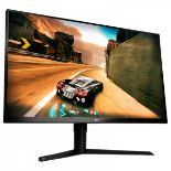 Lot 16058 - V Grade A LG 32 Inch QHD GAMING MONITOR WITH G-SYNC - HDMI, DISPLAY PORT, USB 3.0 - FRAME LESS