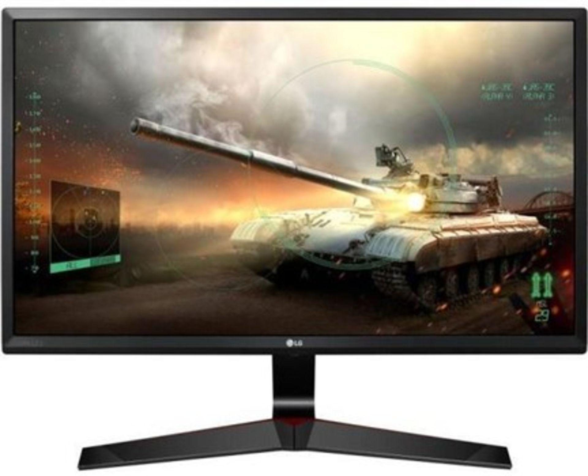Lot 16028 - V Grade A LG 24 Inch FULL HD IPS LED GAMING MONITOR - D-SUB, HDMI, DISPLAY PORT 24MP59G-P