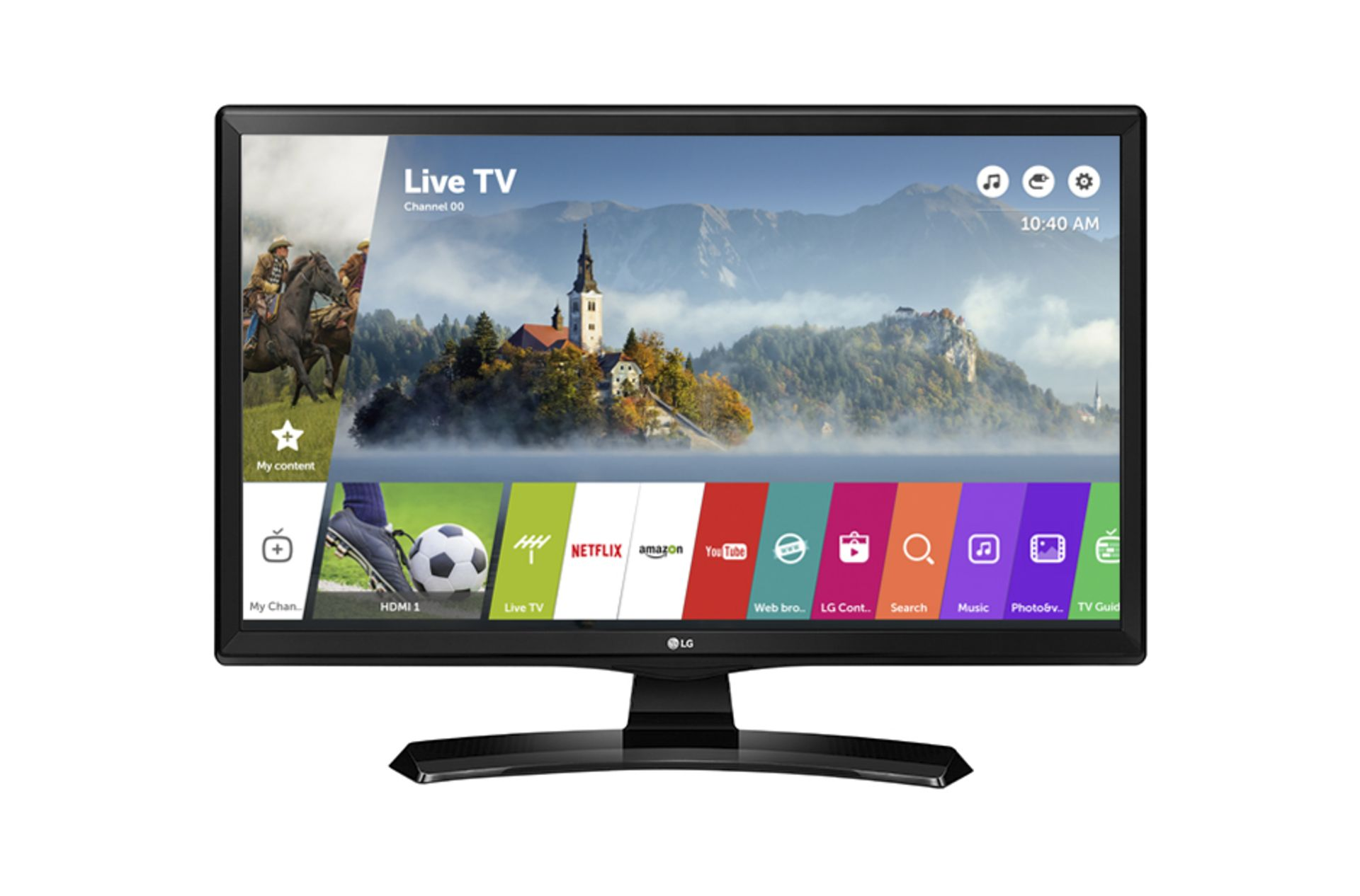Lot 16043 - V Grade A LG 28 Inch HD READY LED SMART TV WITH FREEVIEW HD & WEBOS & WIFI 28MT49S