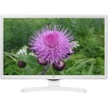 Lot 16038 - V Grade A LG 28 Inch HD READY LED TV WITH FREEVIEW - WHITE 28MT49VW-WZ