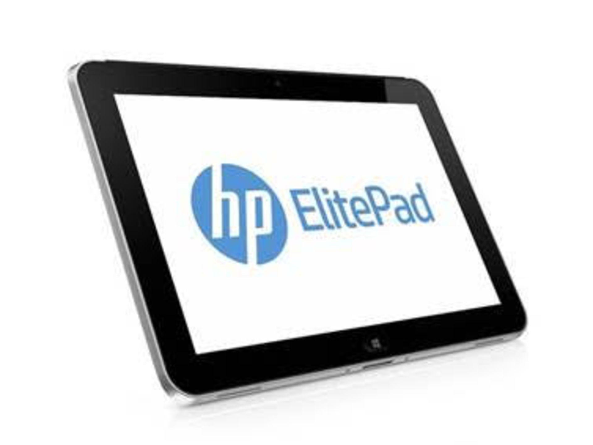 "V Grade A HP Elitepad 900 G1 Dual Core Tablet - Windows 10 Pro - 2gb RAM - 64GB SSD - 10"" Screen"