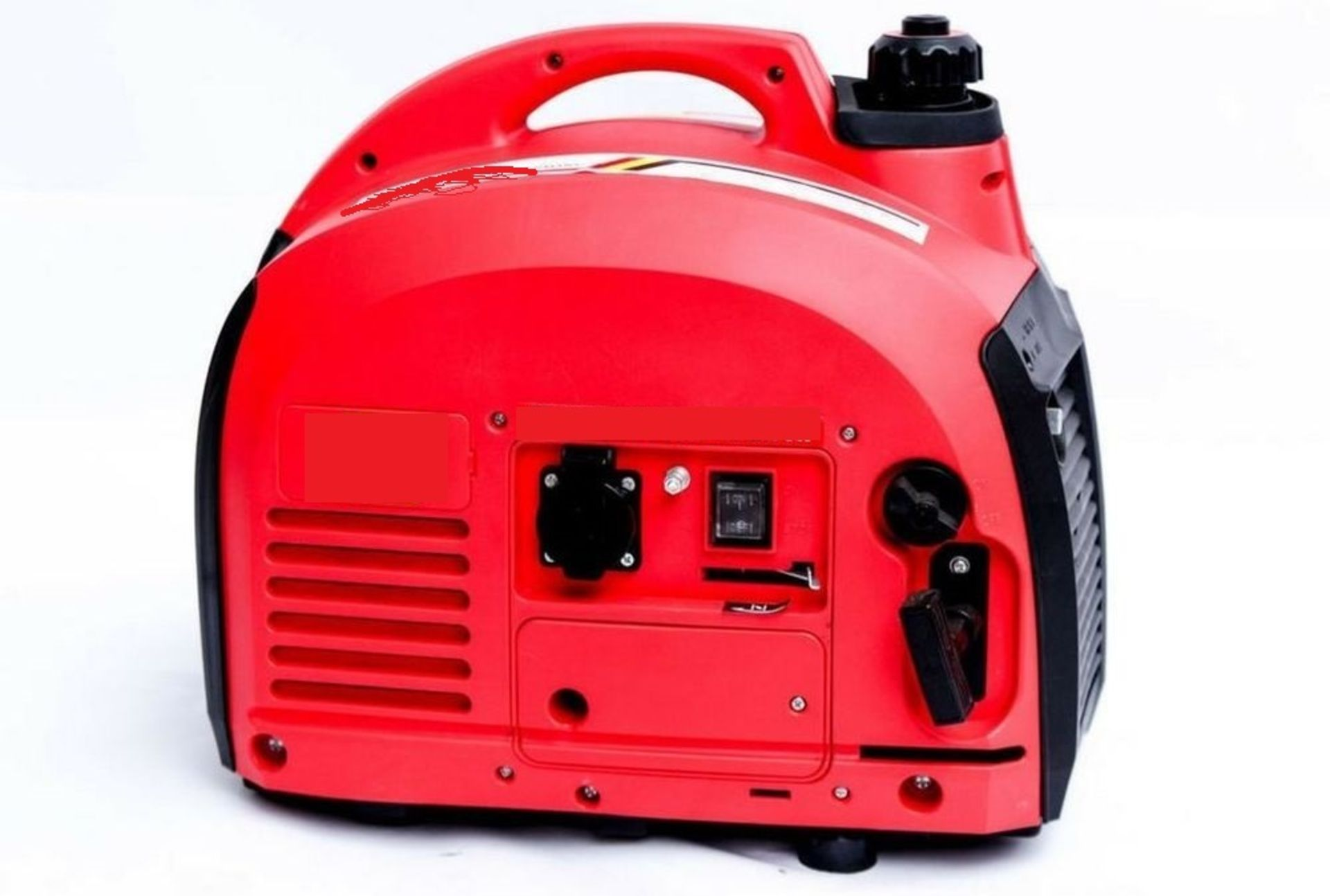 Lot 59032 - V Brand New Generator (Camping/Event Style) With Carry Handle 2000W Max Output 18KG £229.77 eBay