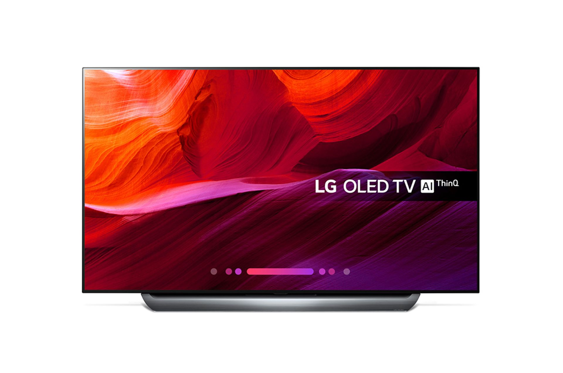 Lot 16028 - V Grade A LG 55 Inch FLAT OLED ACTIVE HDR 4K UHD SMART TV WITH FREEVIEW HD & WEBOS & WIFI - AI