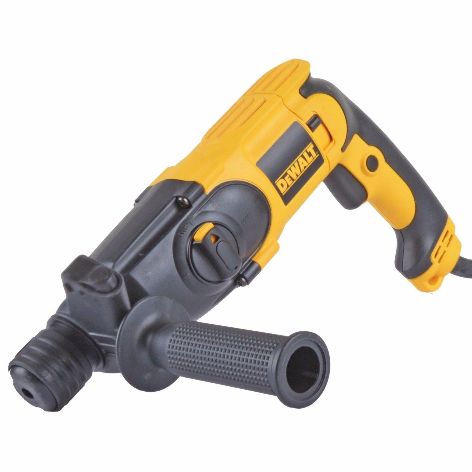 Lot 43012 - V Brand New DeWalt Tradesman SDS+ Hammer Drill (Chiselling Action) 110v ISP 108.95 (Amazon)