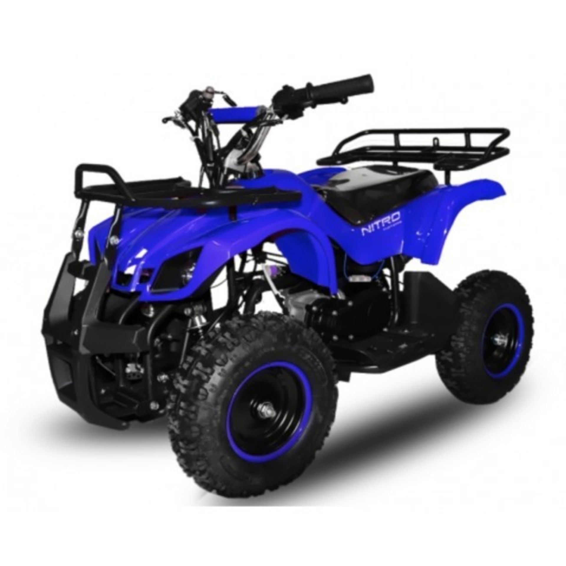 Lot 50000 - V Brand New 50cc Mini Quad Bike FRM - Colours May Vary - Front & Rear Frames - Picture May Vary From