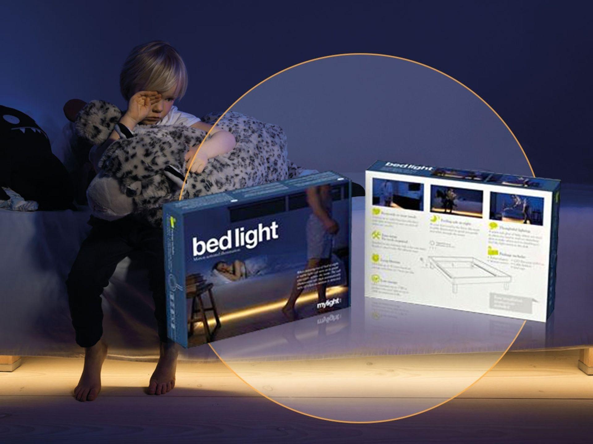 Lot 50026 - V Brand New Motion Activated Bedlight - Amazon Price £67.22 - Multi Purpose - Max. 12W -
