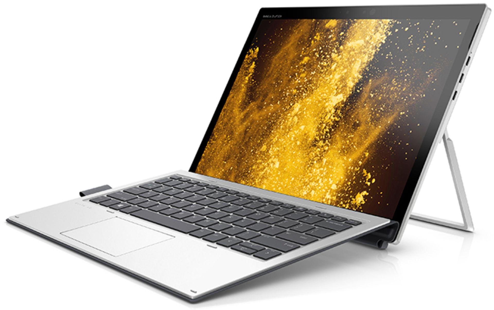 Lot 50039 - V Grade A HP Elite X2 1012 G1 Transformer Laptop & Tablet - Intel Core M7-6Y75 CPU 1.2Ghz - 8GB