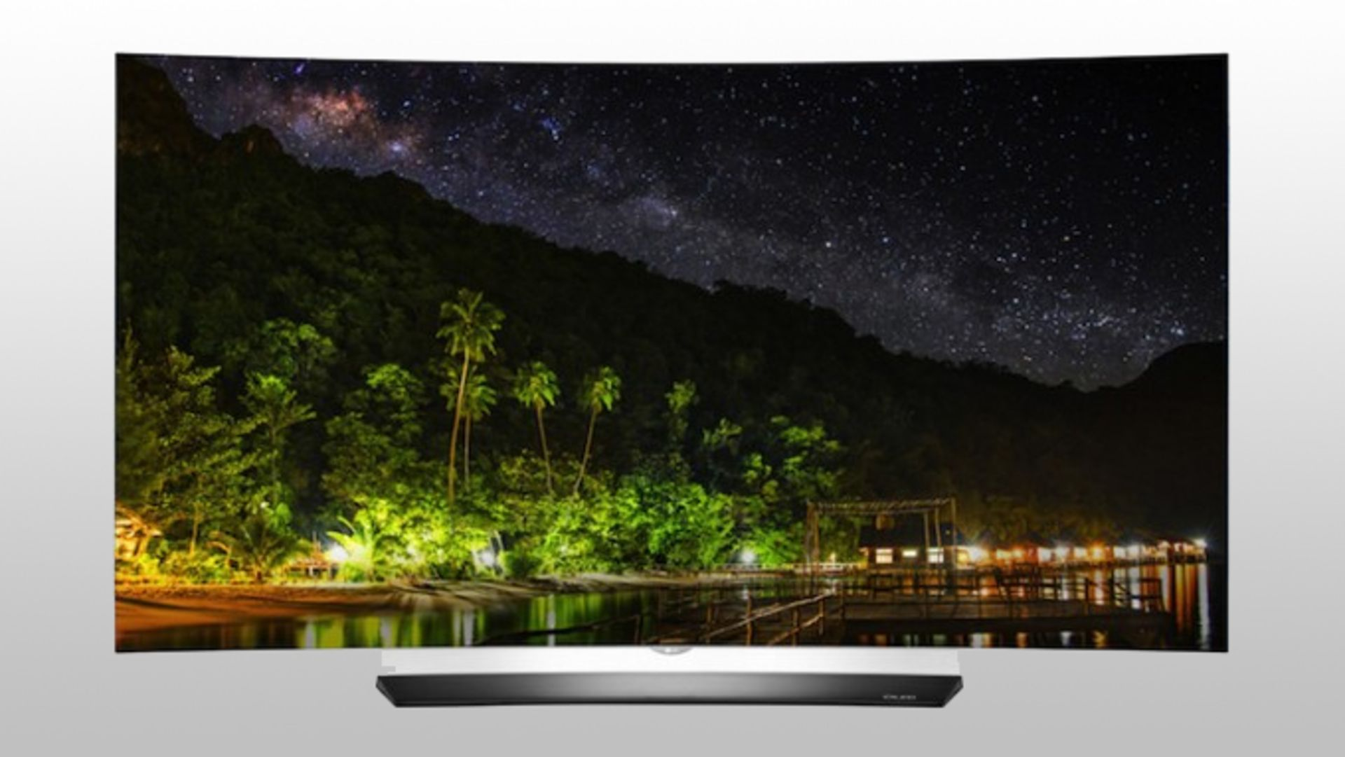 Lot 16018 - V Grade A LG 55 Inch CURVED OLED HDR 4K UHD 3D SMART TV WITH FREEVIEW HD & WEBOS & WIFI OLED55C6V