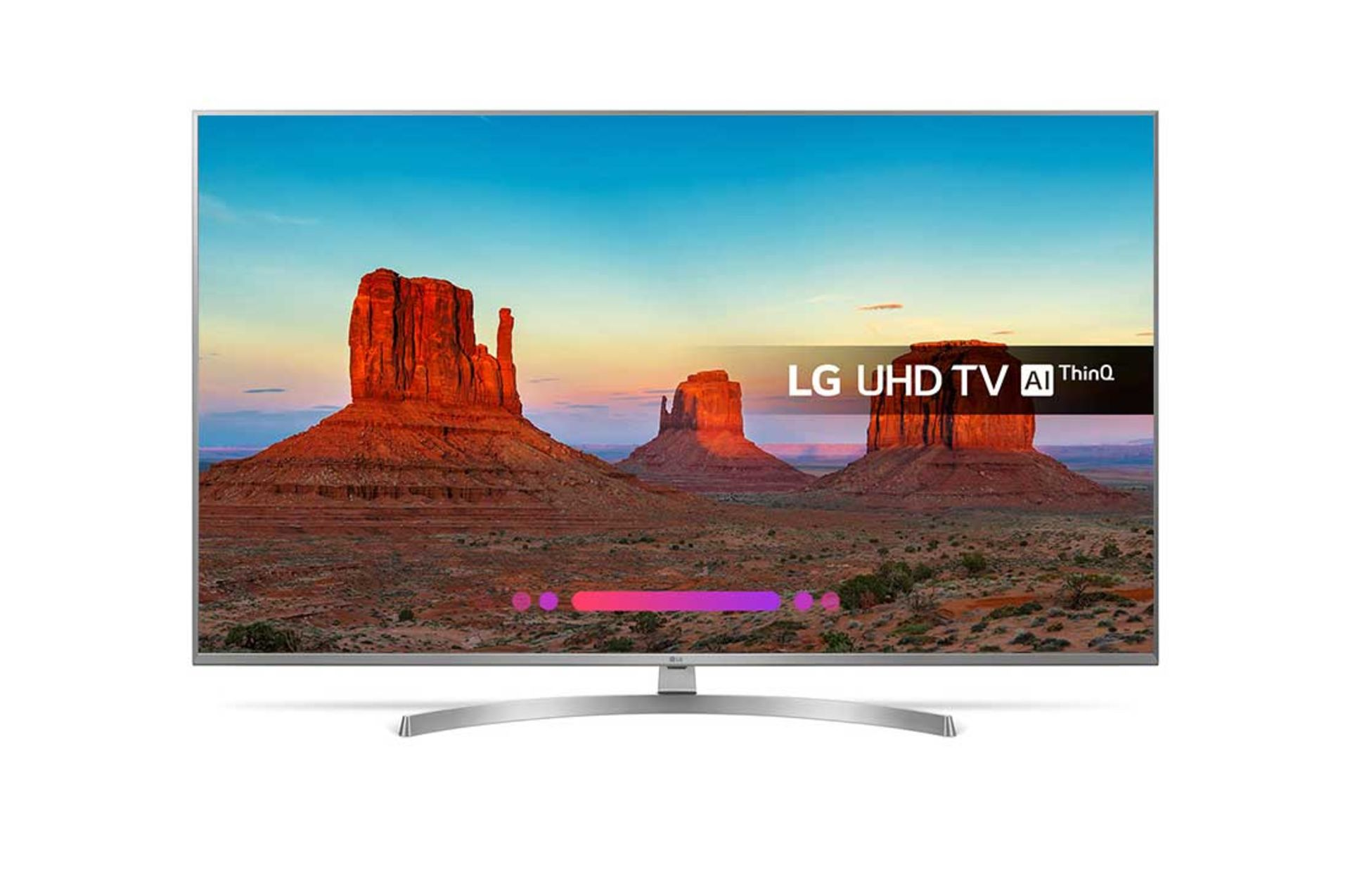 Lot 16000 - V Grade A LG 55 Inch ACTIVE HDR 4K ULTRA HD NANO LED SMART TV WITH FREEVIEW HD & WEBOS 4.0 &