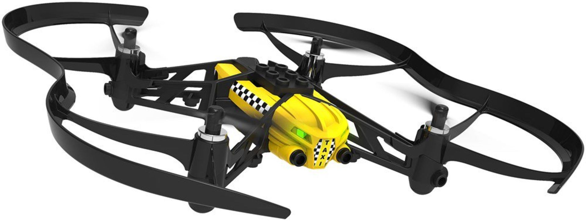 Lot 10005 - V Brand New Parrot Minidrone Travis Airborn Smartphone Controlled Cargo Drone - 360 Degree
