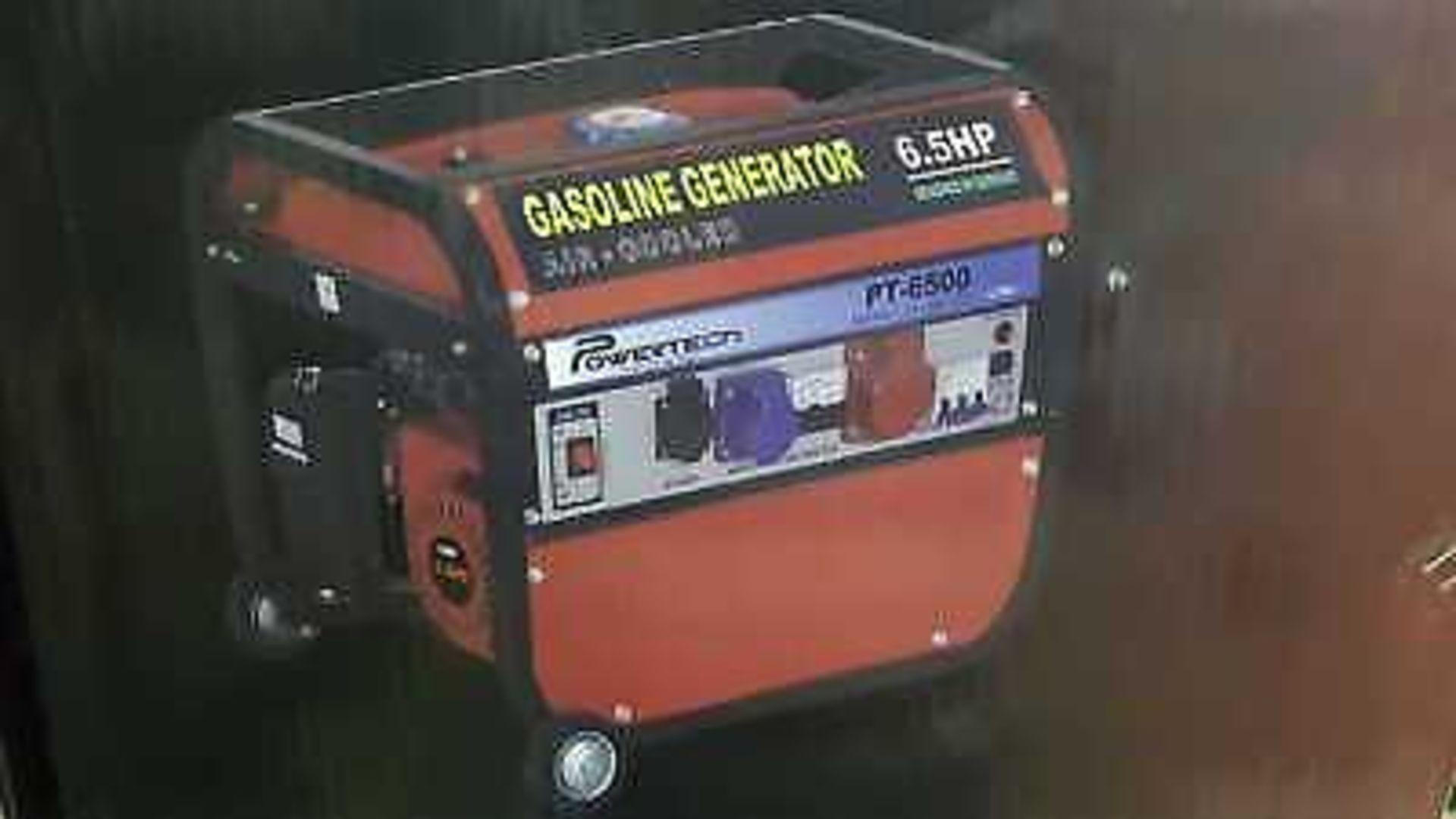 Lot 18026 - V Brand New 220v UK6500 Petrol Generator - Universal Kraft Germany - On Frame On Wheels - eBay Price