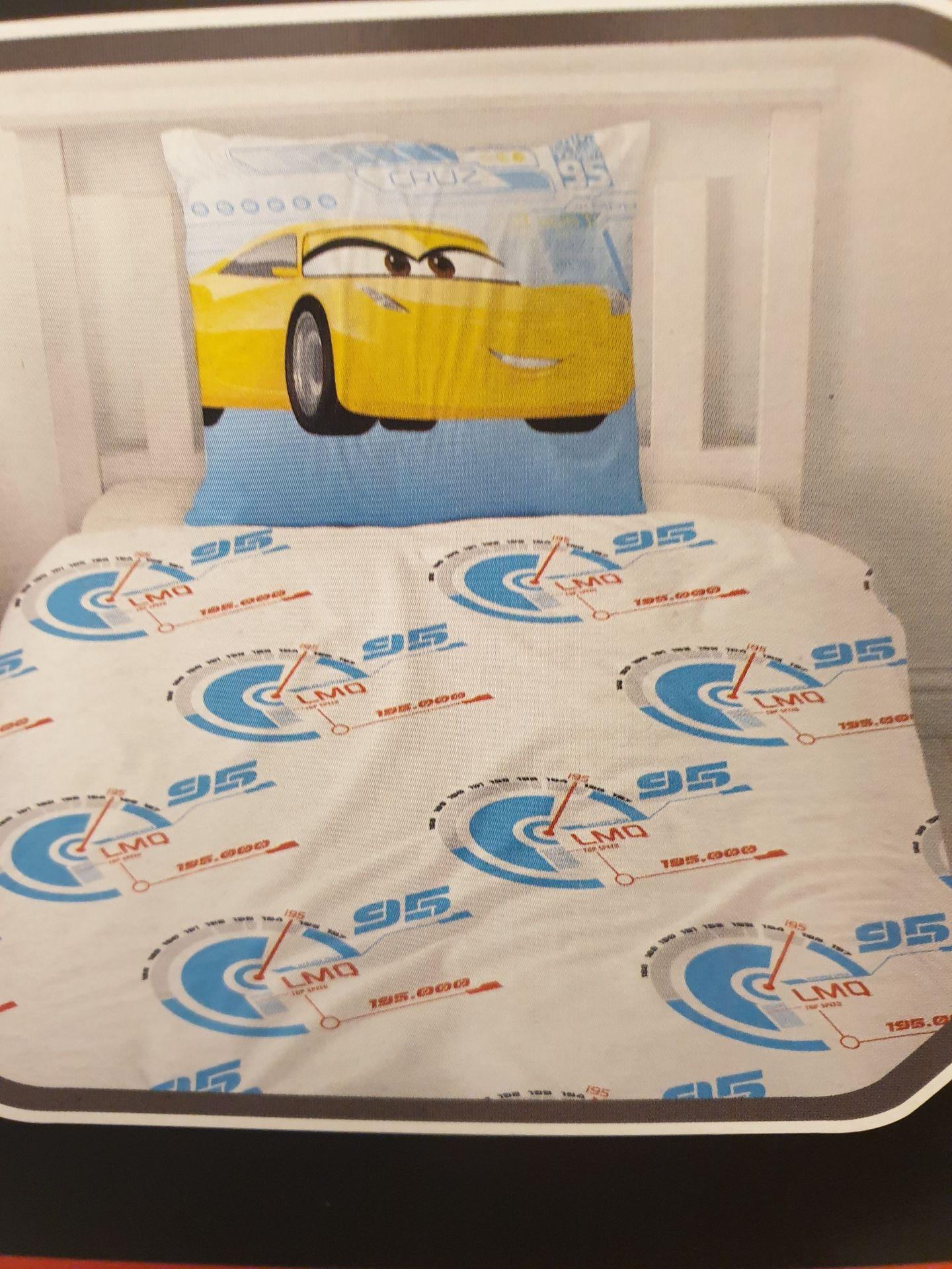 Lot 12417 - V Brand New Disney Pixar Cars 3 Single Bed Set