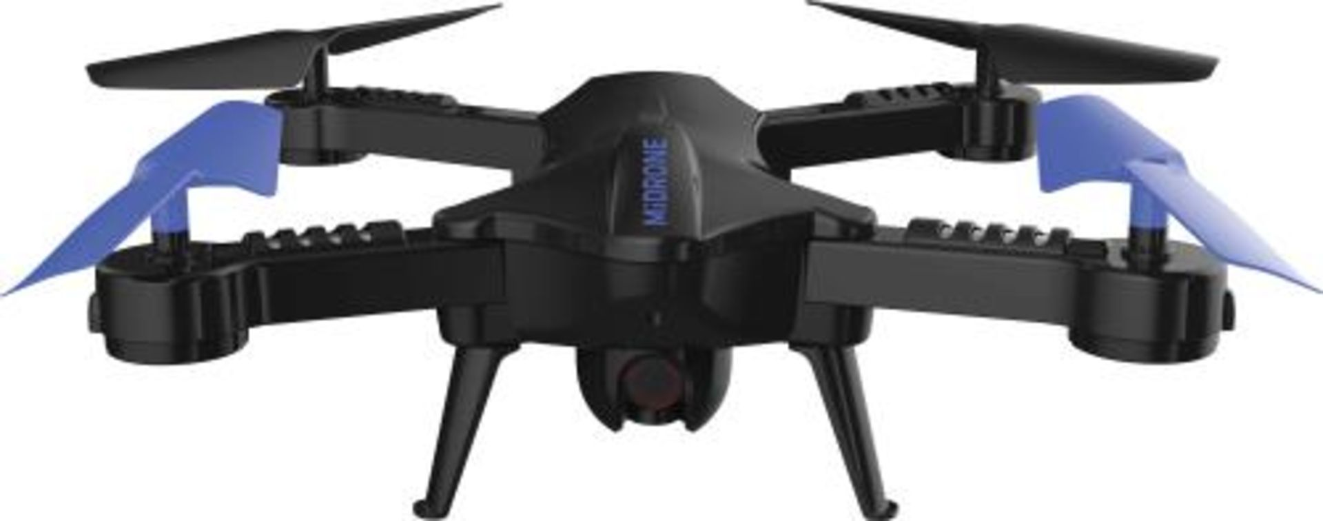 Lot 15780 - V Brand New MiDrone HD WiFi Drone With Intergrated Full HD Camera PLUS VR Kit (Goggles & Case) -