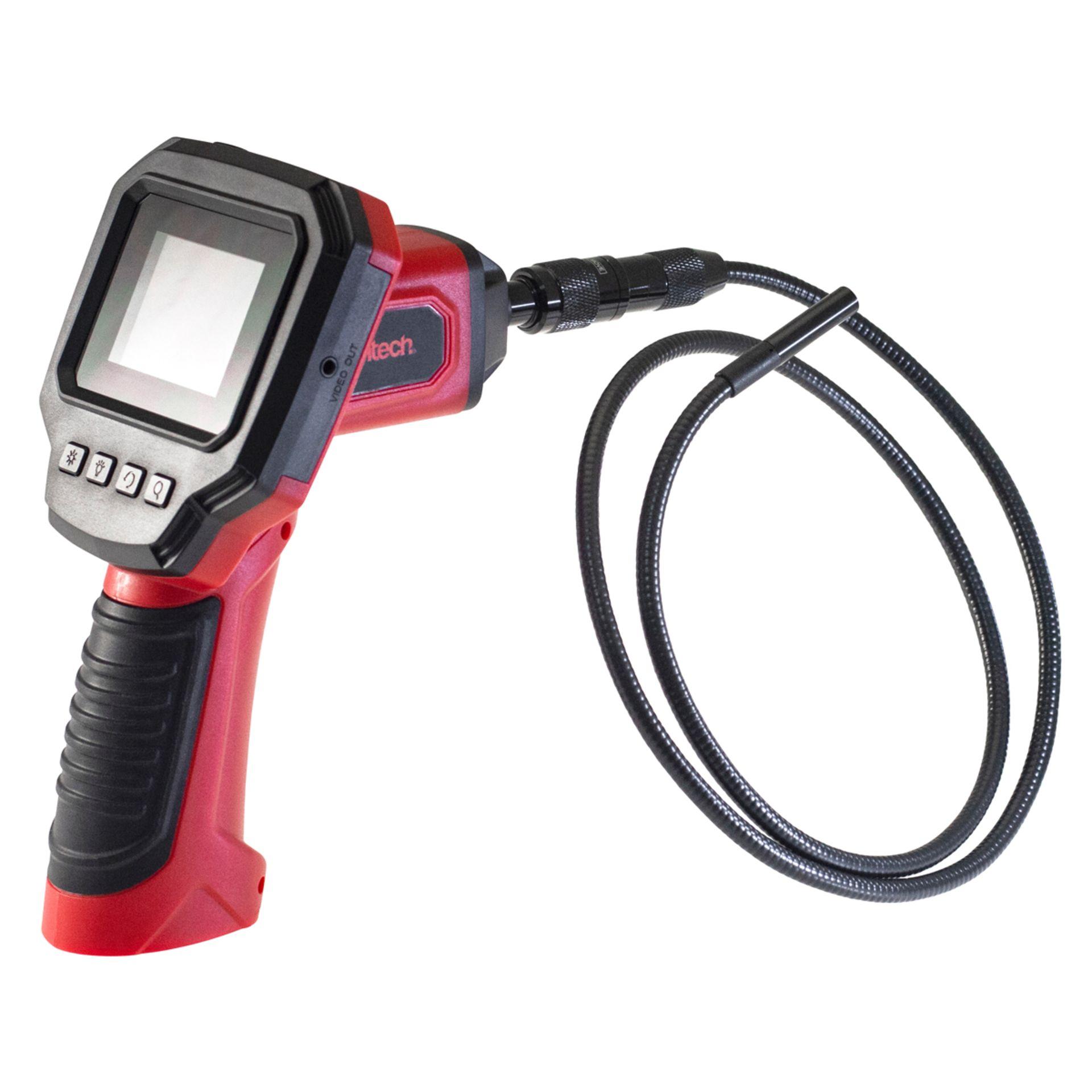 Lot 11455 - V Brand New 2.4 Inch Colour LCD Inspection Camera - Adjustable Backlit LED Screen