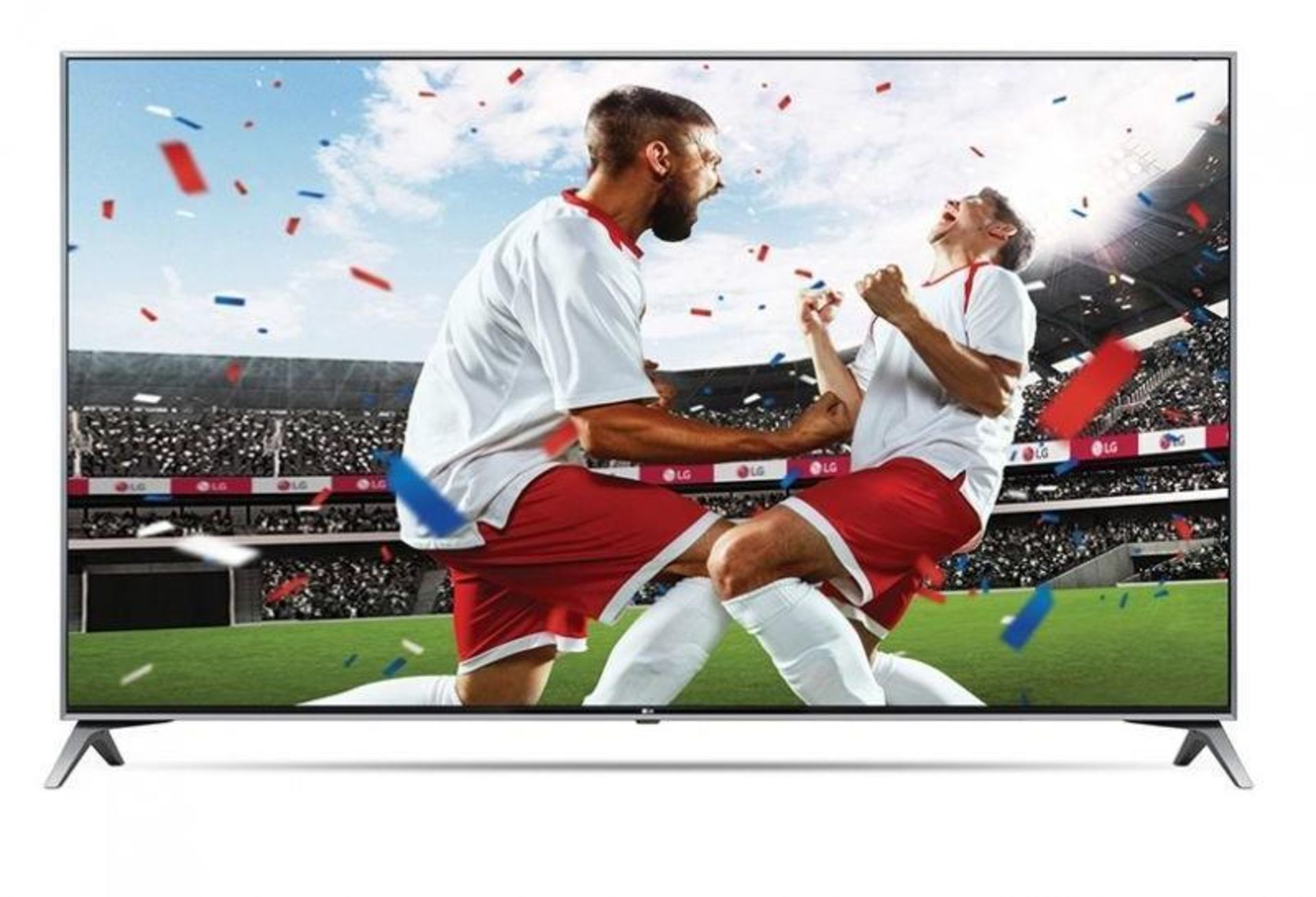 Lotto 30017 - V Grade A LG 49 Inch ACTIVE HDR 4K SUPER ULTRA HD NANO LED SMART TV WITH FREEVIEW HD & WEBOS 3.5 &