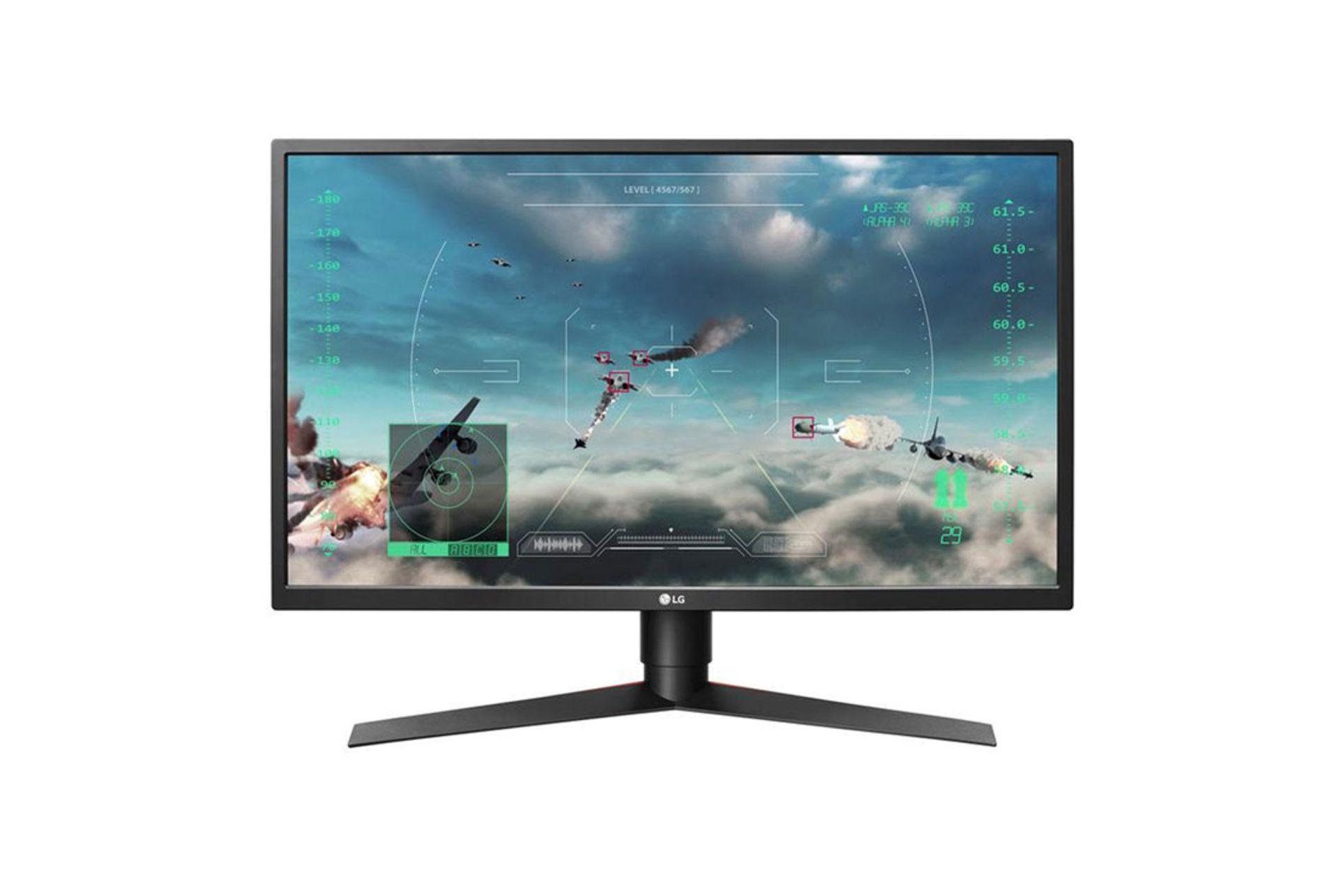 Lotto 30043 - V Grade A LG 27 Inch FULL HD GAMING LED MONITOR - HDMI X 2, DISPLAYPORT, USB 3.0 X 227GK750F-B