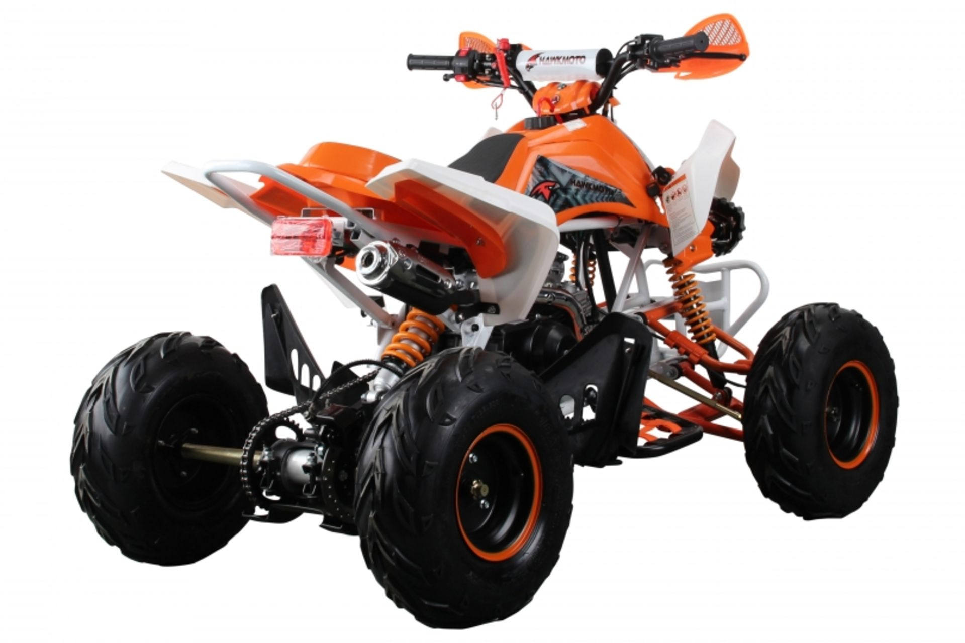Lot 23531 - V Brand New 125cc Interceptor SV2 4 Stroke Quad Bike With Reverse Gear - Double Front Suspension/