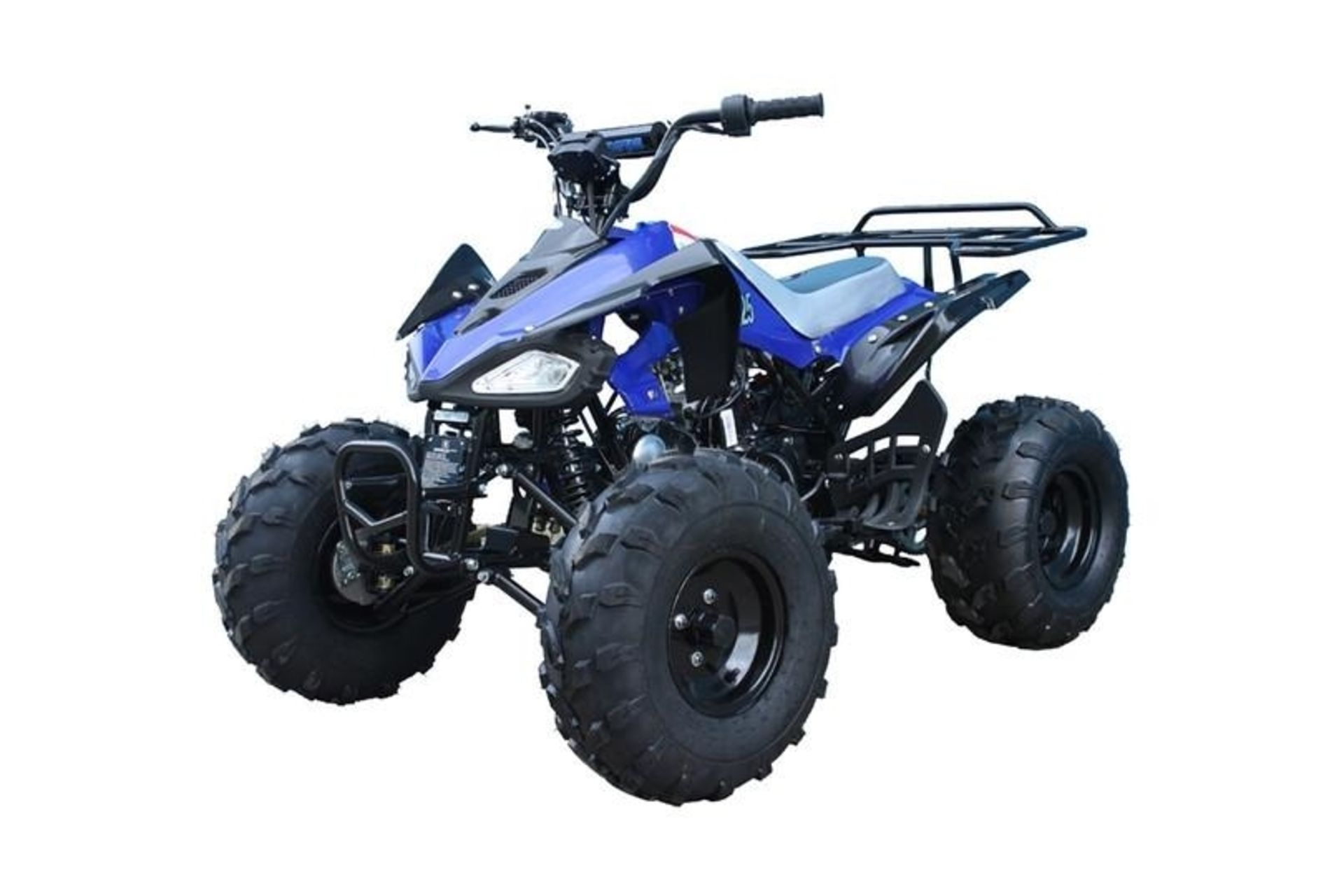Lot 23513 - V Brand New 125cc Cheetah Quad Bike - Rear Frame - Colours May Vary - Available Approx 5 Working