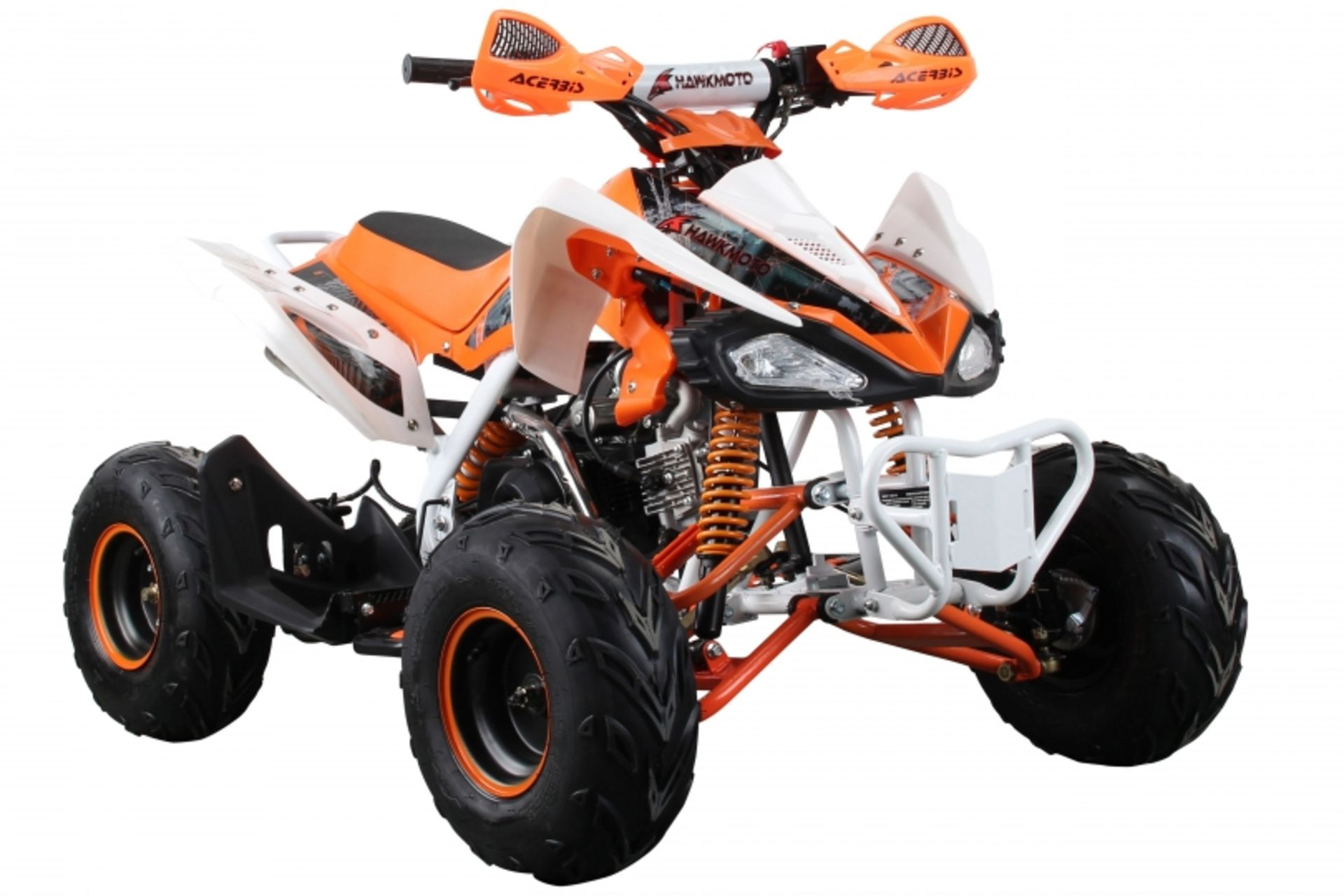 Lot 23529 - V Brand New 125cc Interceptor SV2 4 Stroke Quad Bike With Reverse Gear - Double Front Suspension/