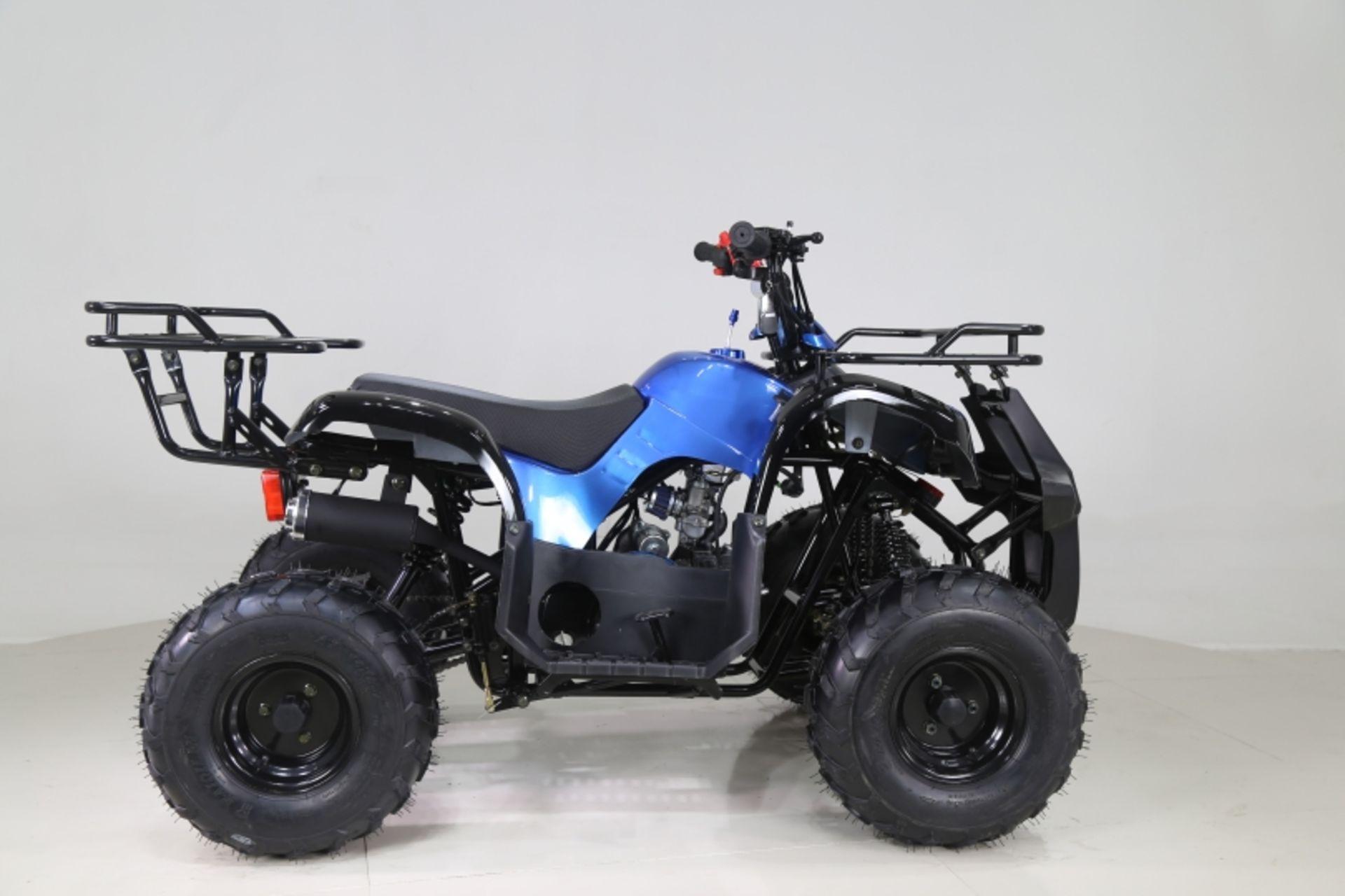 Lot 23000 - V Brand New 125cc Condo 4 Stroke Quad Bike With Front & Rear Racks - Air Cooled 4 Stroke Honda