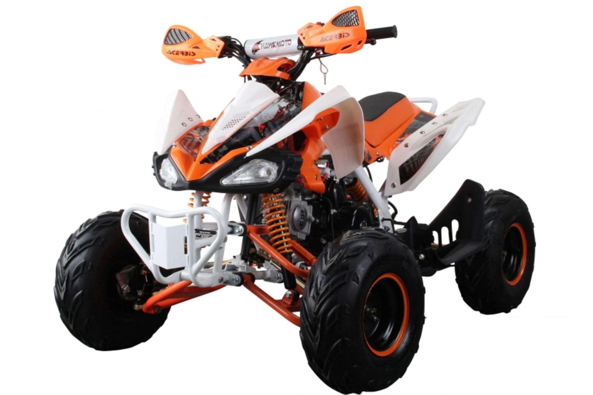 Lot 23533 - V Brand New 125cc Interceptor SV2 4 Stroke Quad Bike With Reverse Gear - Double Front Suspension/