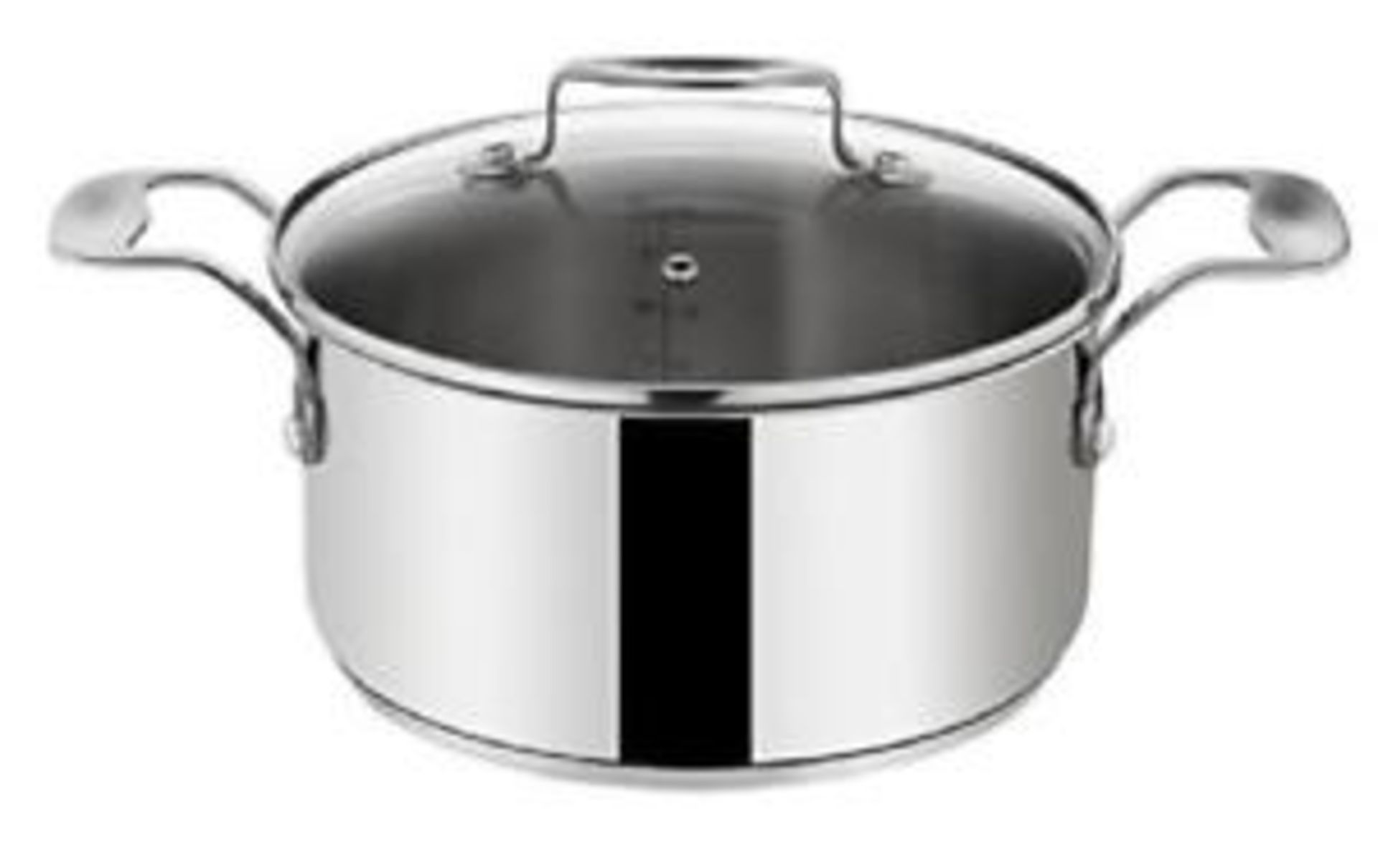 Lot 10192 - V Brand New Tefal Jamie Oliver Professional 6.7 Litre Stainless Steel Induction Cooking Pot With
