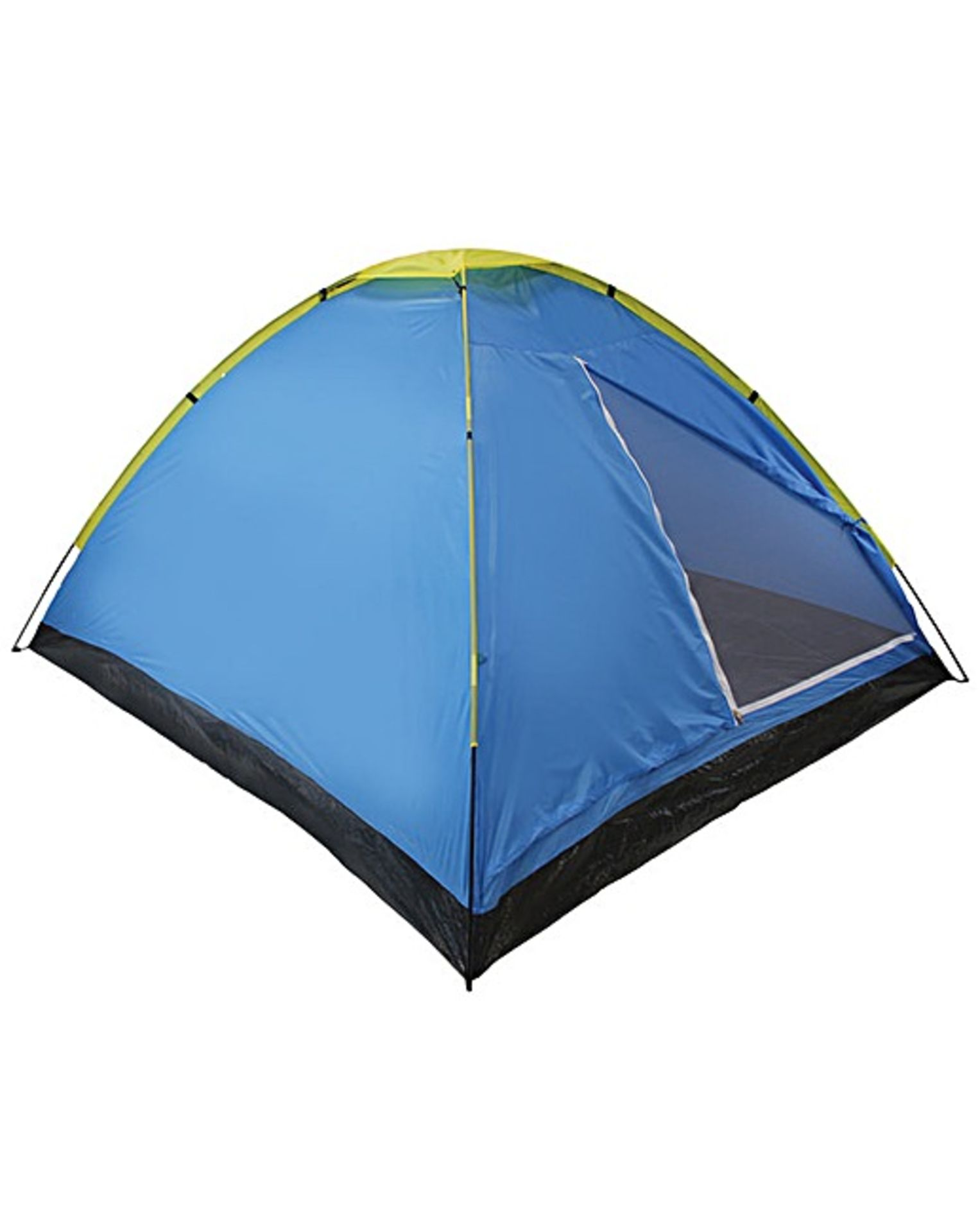 Lot 30256 - V Brand New Two Person Dome Tent With Fibreglass Poles And Taped Seams RRP21.00 (JD Williams)