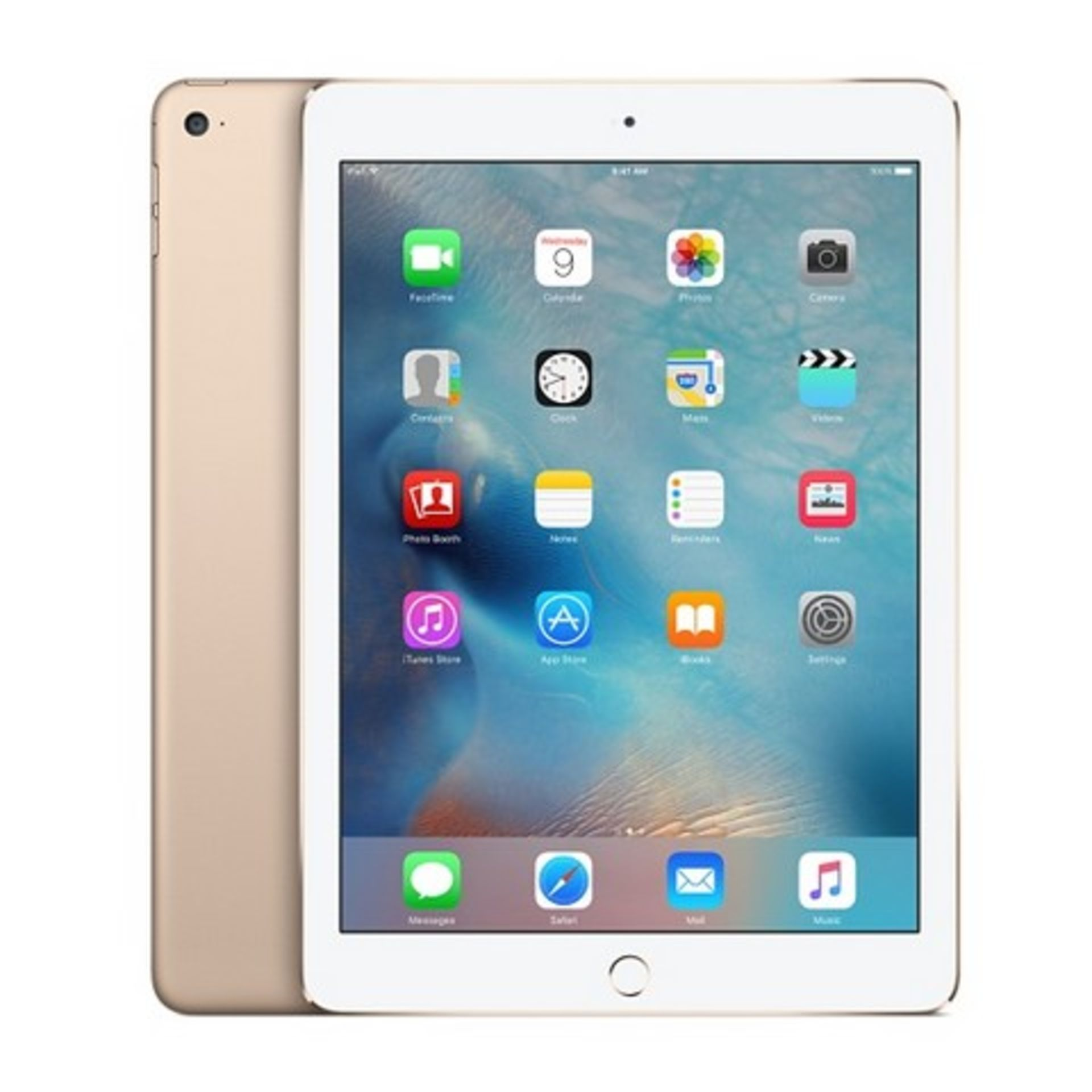 Lot 31808 - V Grade A Apple iPad Air 2 16GB Gold - Wi-Fi - Box and Accessories