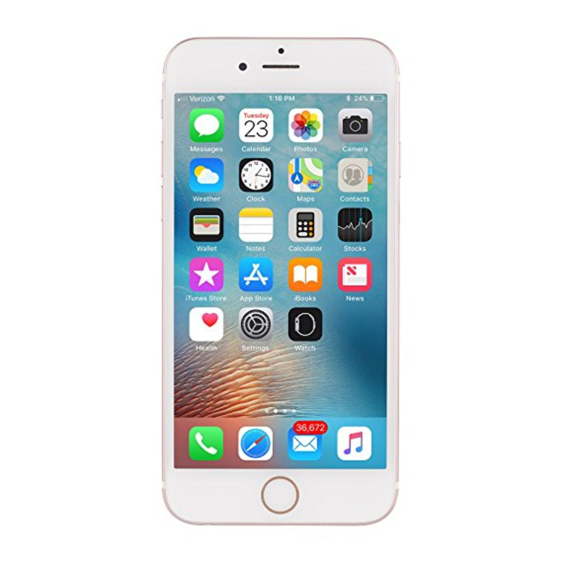 Lot 31756 - Grade A Apple iphone 6s 128GB Colours May Vary Touch ID Item available approx 12 working days after