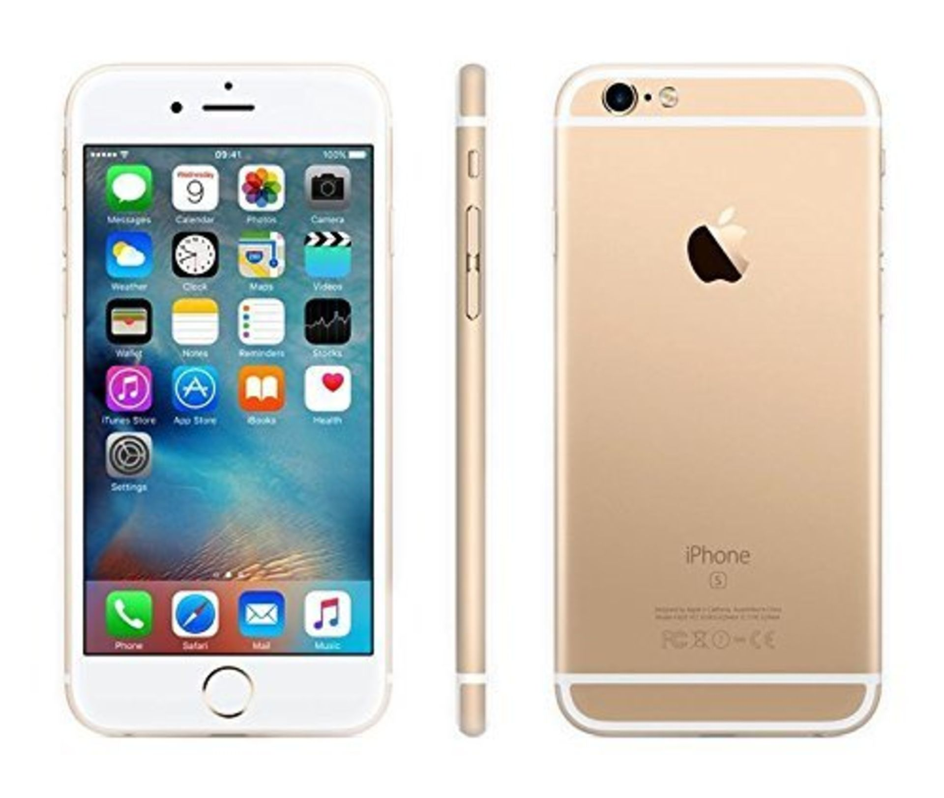 Lot 31663 - Grade A Apple iphone 6 128GB Colours May Vary Touch ID Item available approx 12 working days after