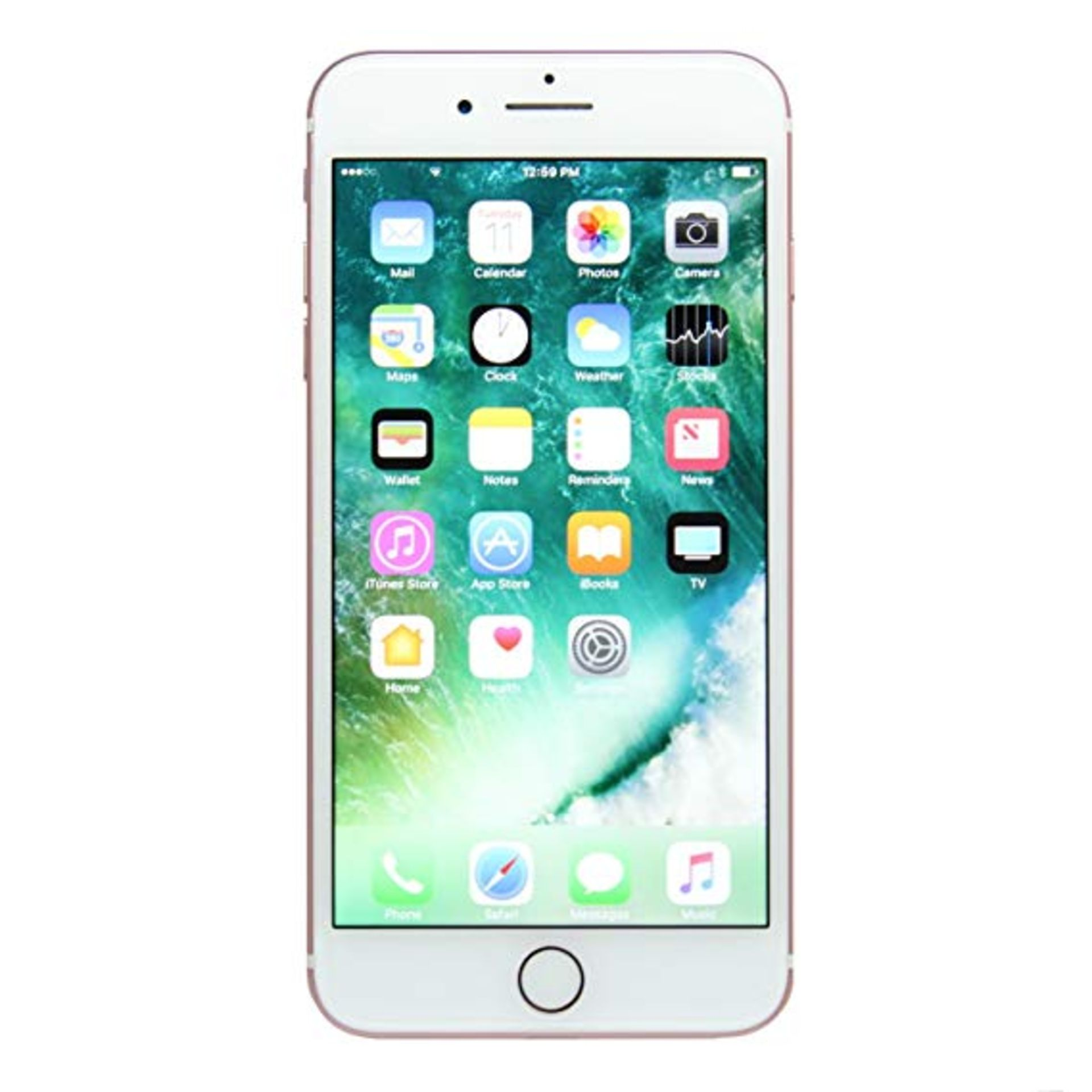 Lot 31825 - Grade A Apple iphone 7 128GB Colours May Vary Touch ID Item available approx 12 working days after