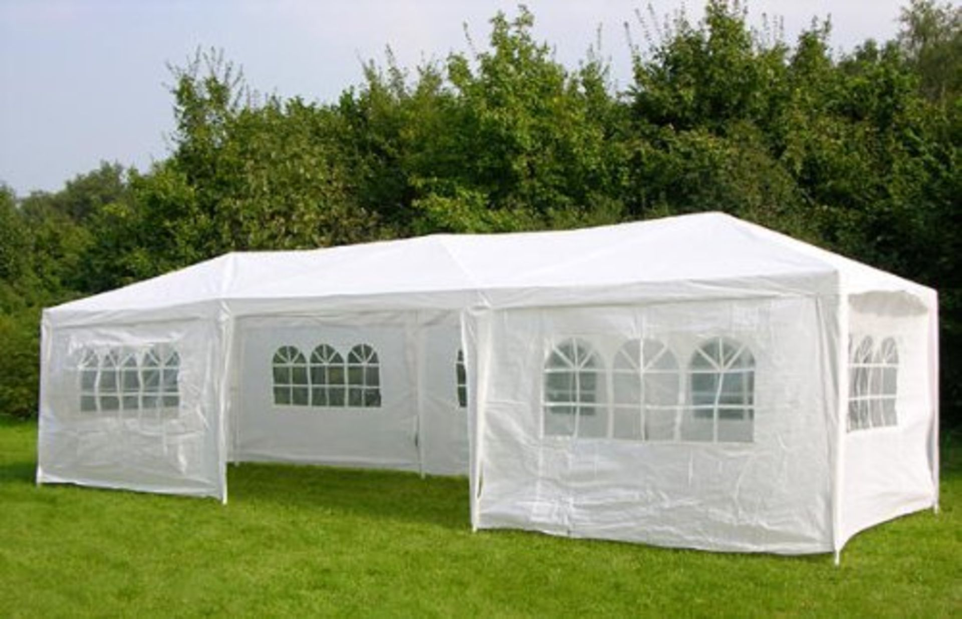Lot 32140 - V Brand New 3M x 9M Gazebo