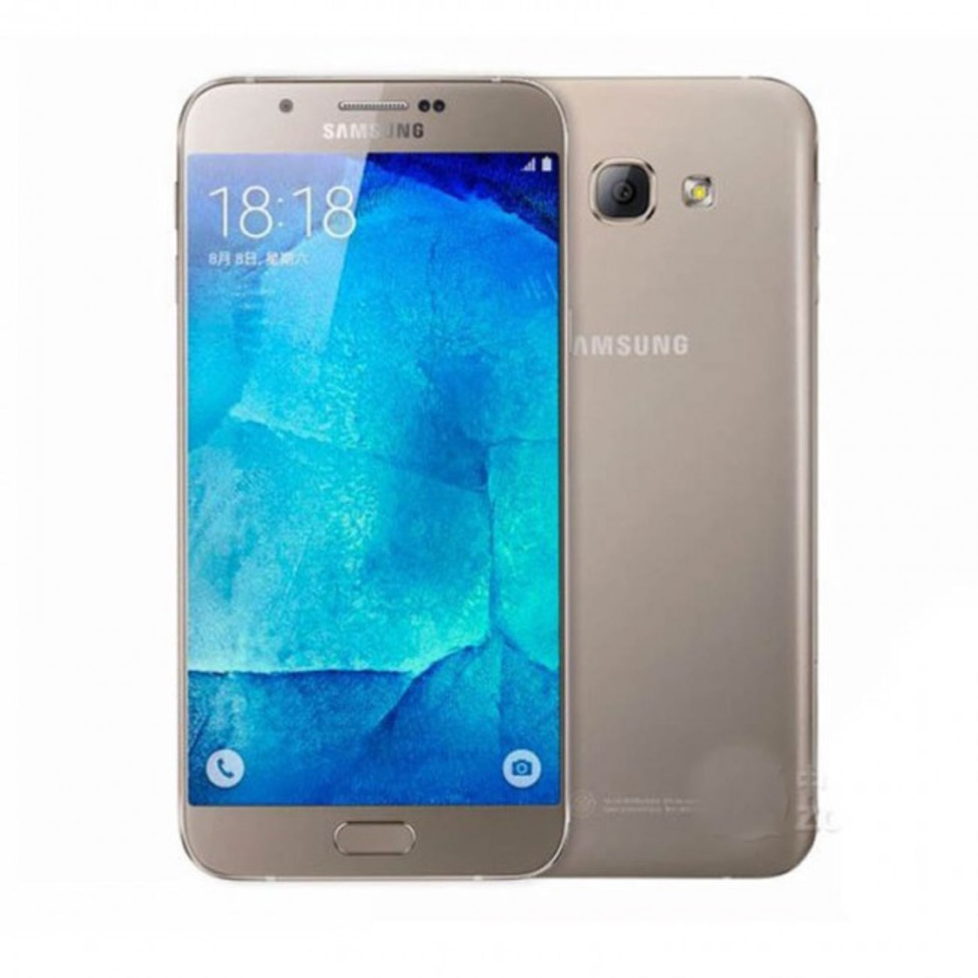 Lot 31758 - Grade A Samsung A8000 Colours May Vary Item available approx 12 working days after sale