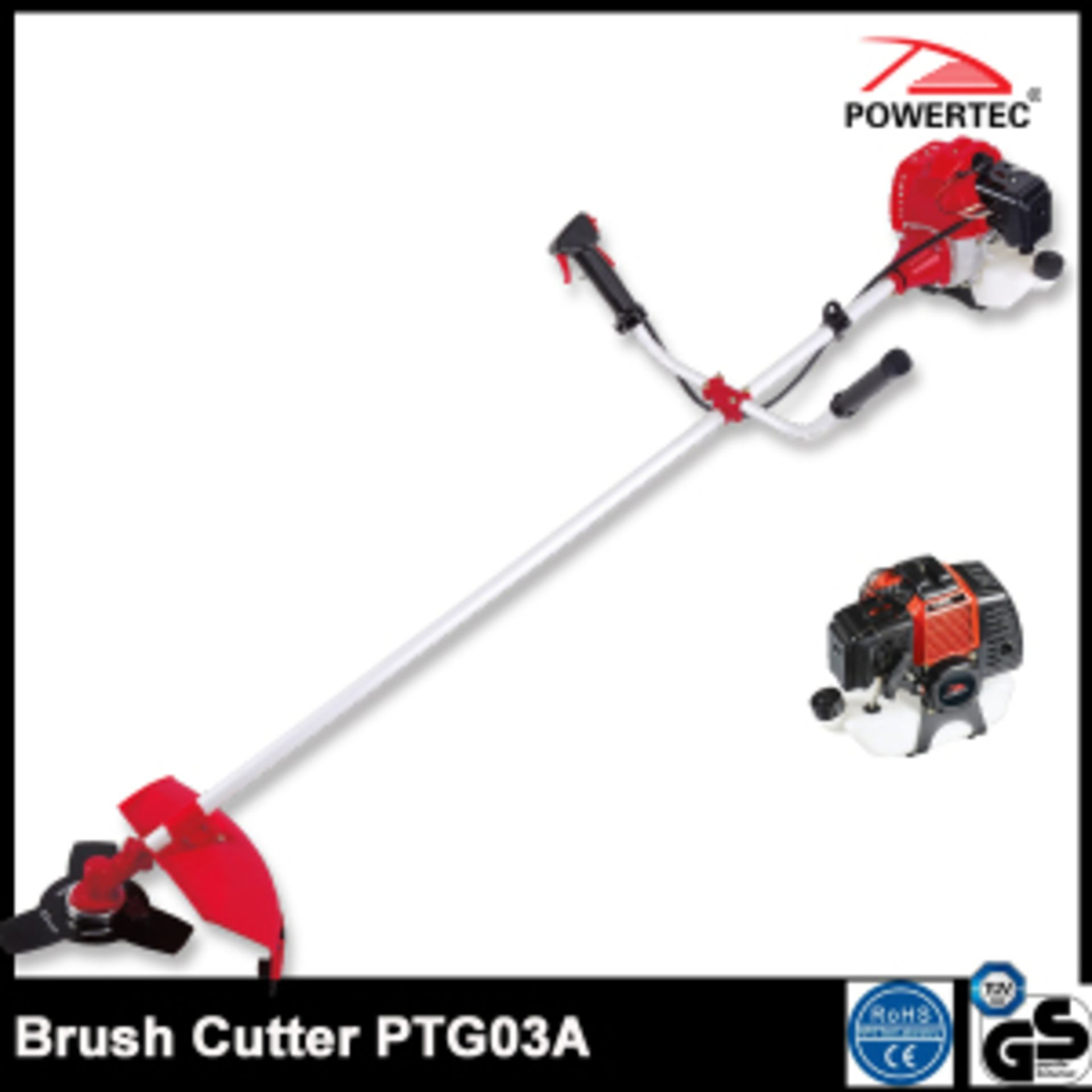 Lot 32032 - V Brand New Petrol Strimmer 5.5hp-Professional-High Power-Stable Quality-1.6kw/7500rpm-Grass
