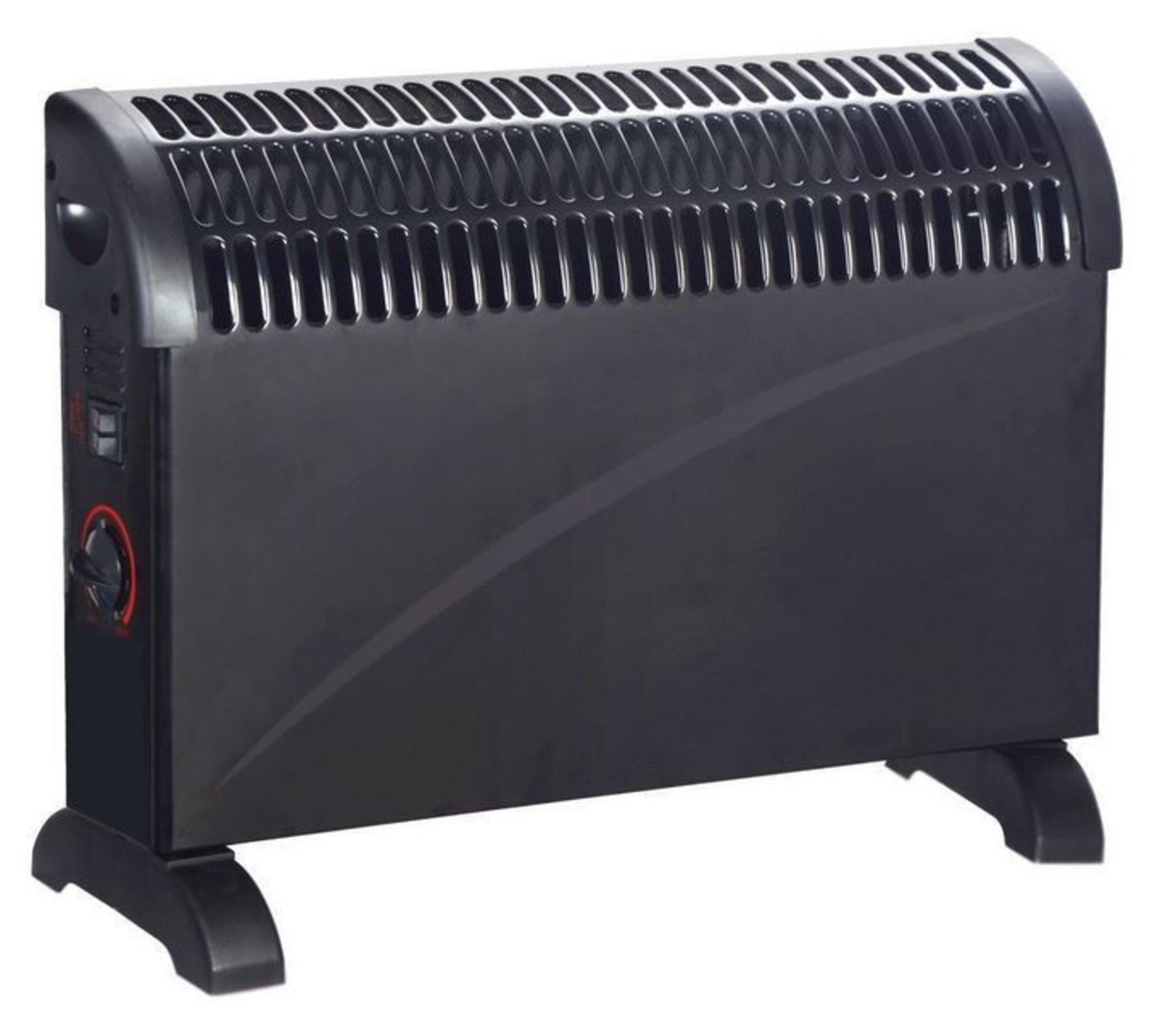 Lot 50096 - V Brand New Powatron 750/1250/2000w Convector Heater-3 Heat Settings-Adjustable Thermostat-