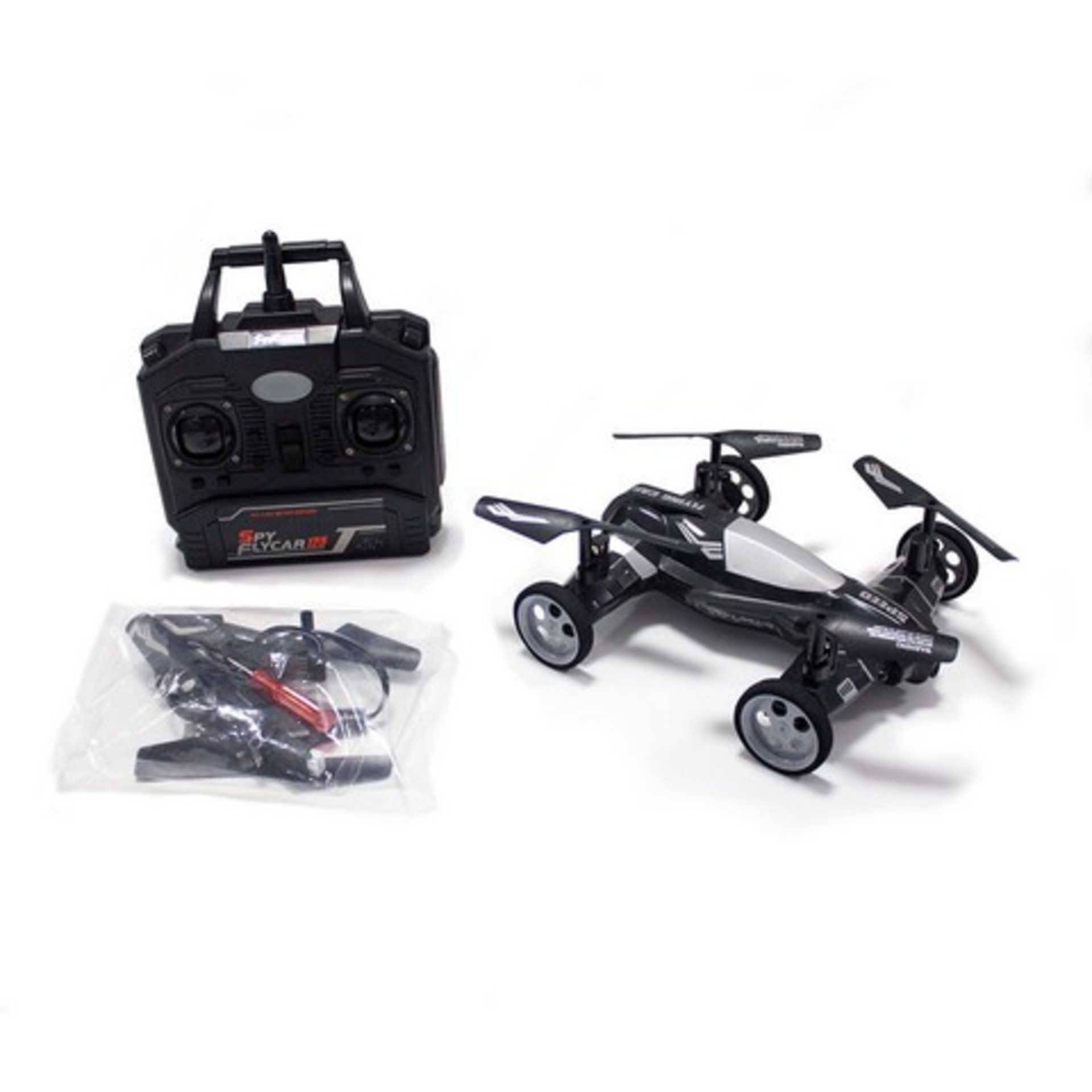 Lot 51664 - V Brand New Radio Control Quad-Copter Orbit Moon Buggy - 720P HD Camera - 4GB Micro SD Card Included