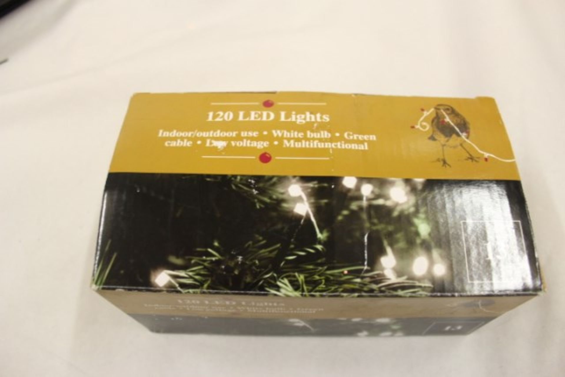 Lot 52627 - V Grade U 120 White LED Lights